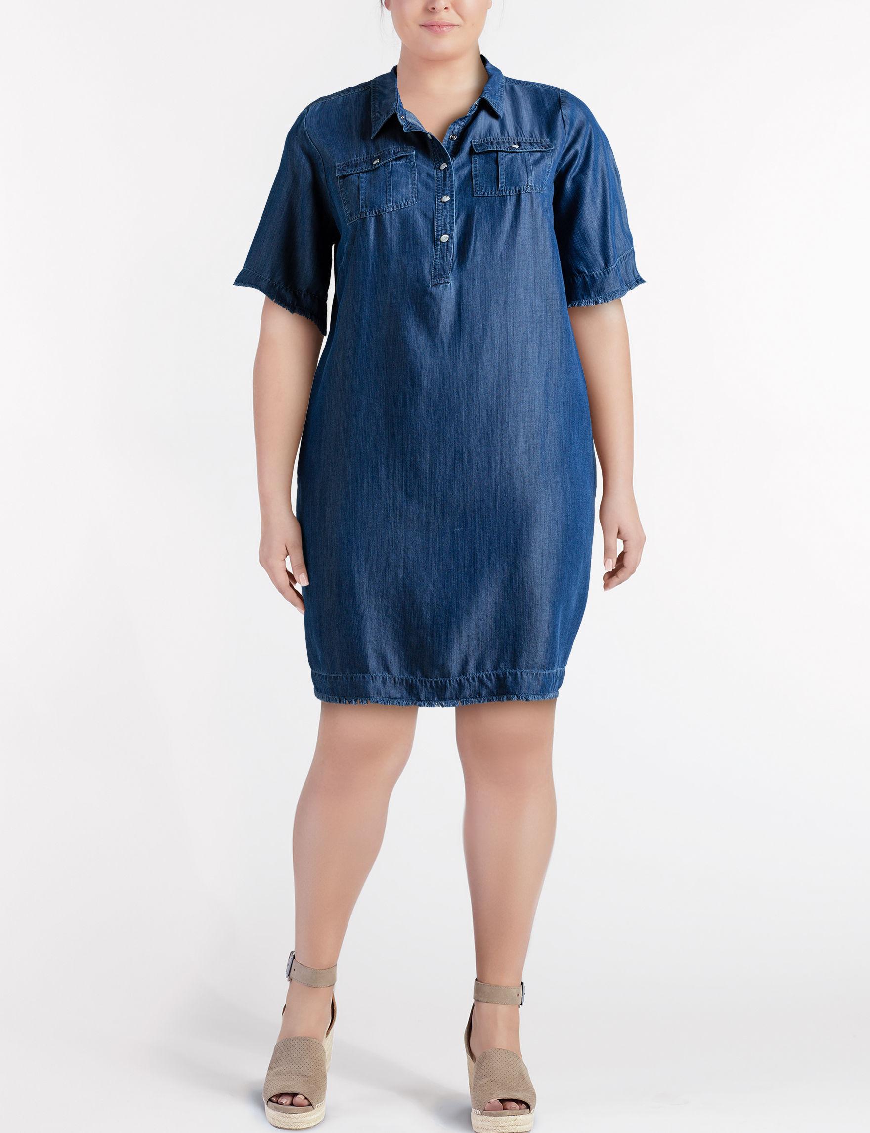 Glamour Denim Everyday & Casual Shirt Dresses
