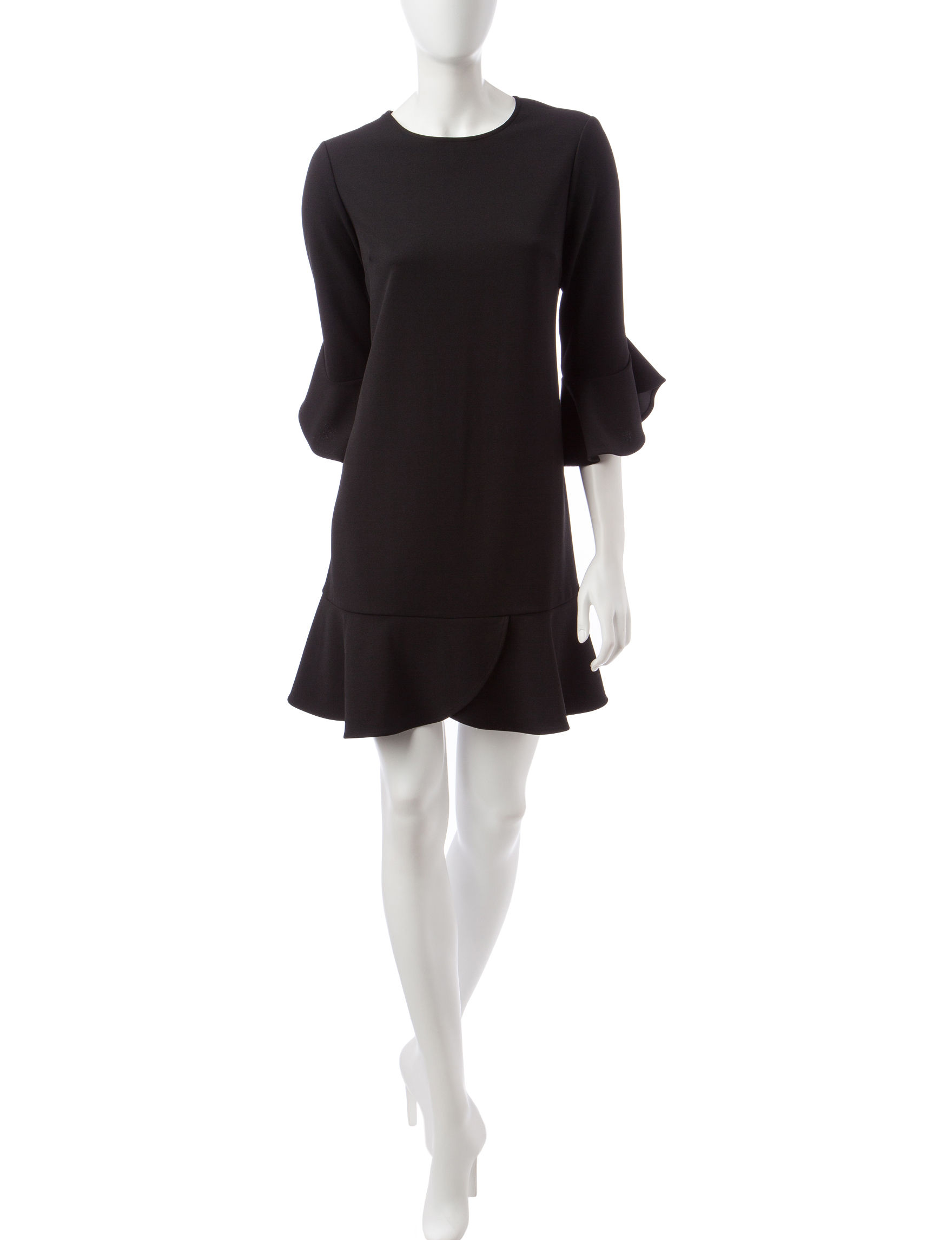 Beige by ECI Black Everyday & Casual Shift Dresses