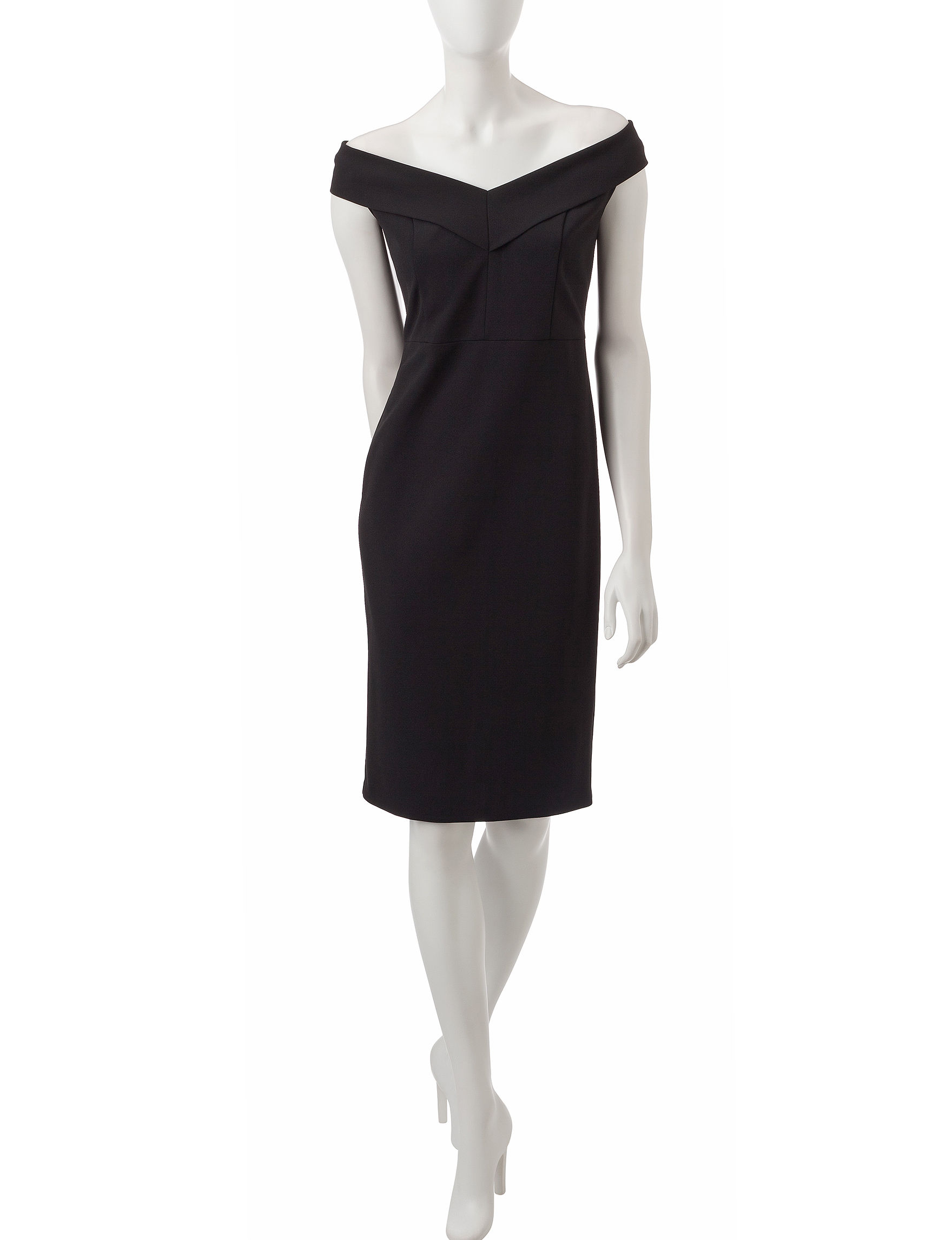 Beige by ECI Black Everyday & Casual Sheath Dresses