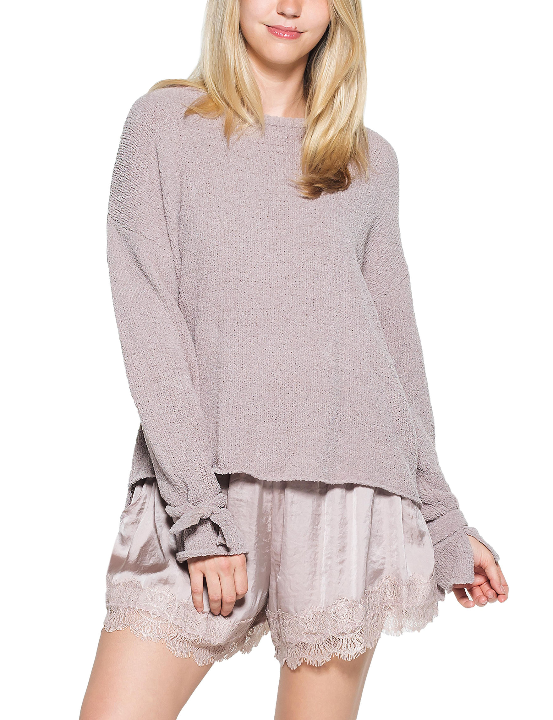 C + J Collections Medium Pink Pull-overs