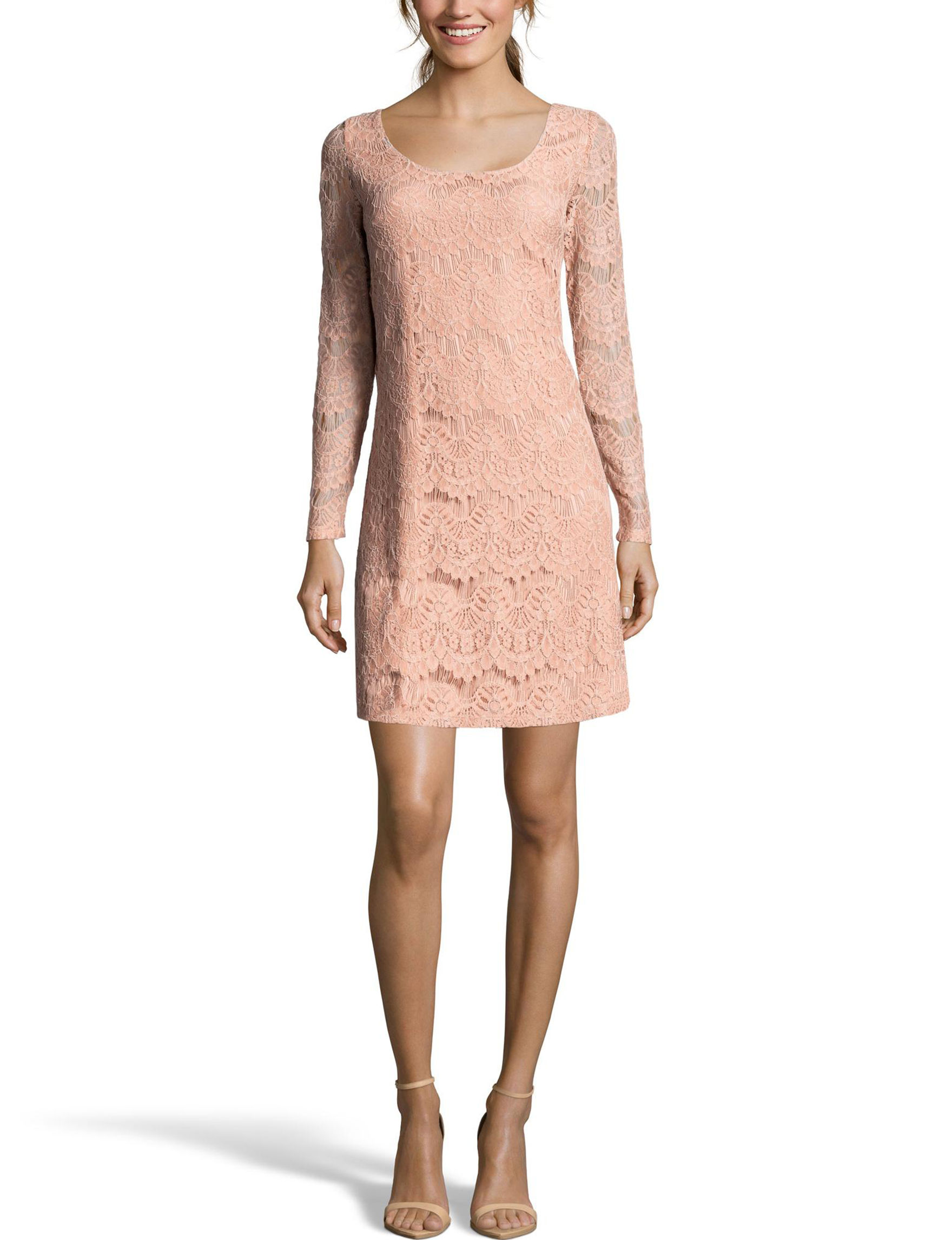Nicole Miller Pink Everyday & Casual Shift Dresses