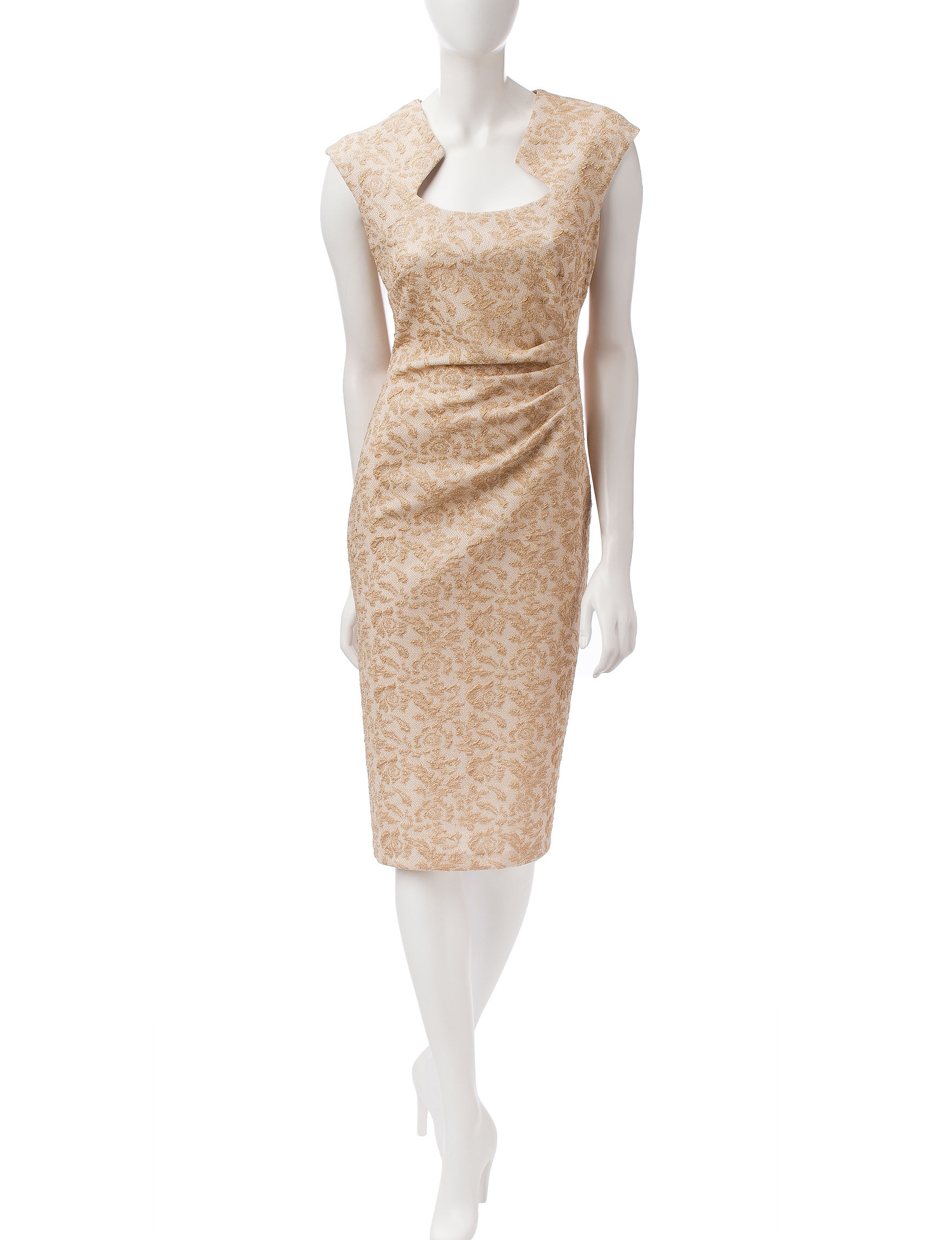 Connected Champagne Cocktail & Party Evening & Formal Sheath Dresses