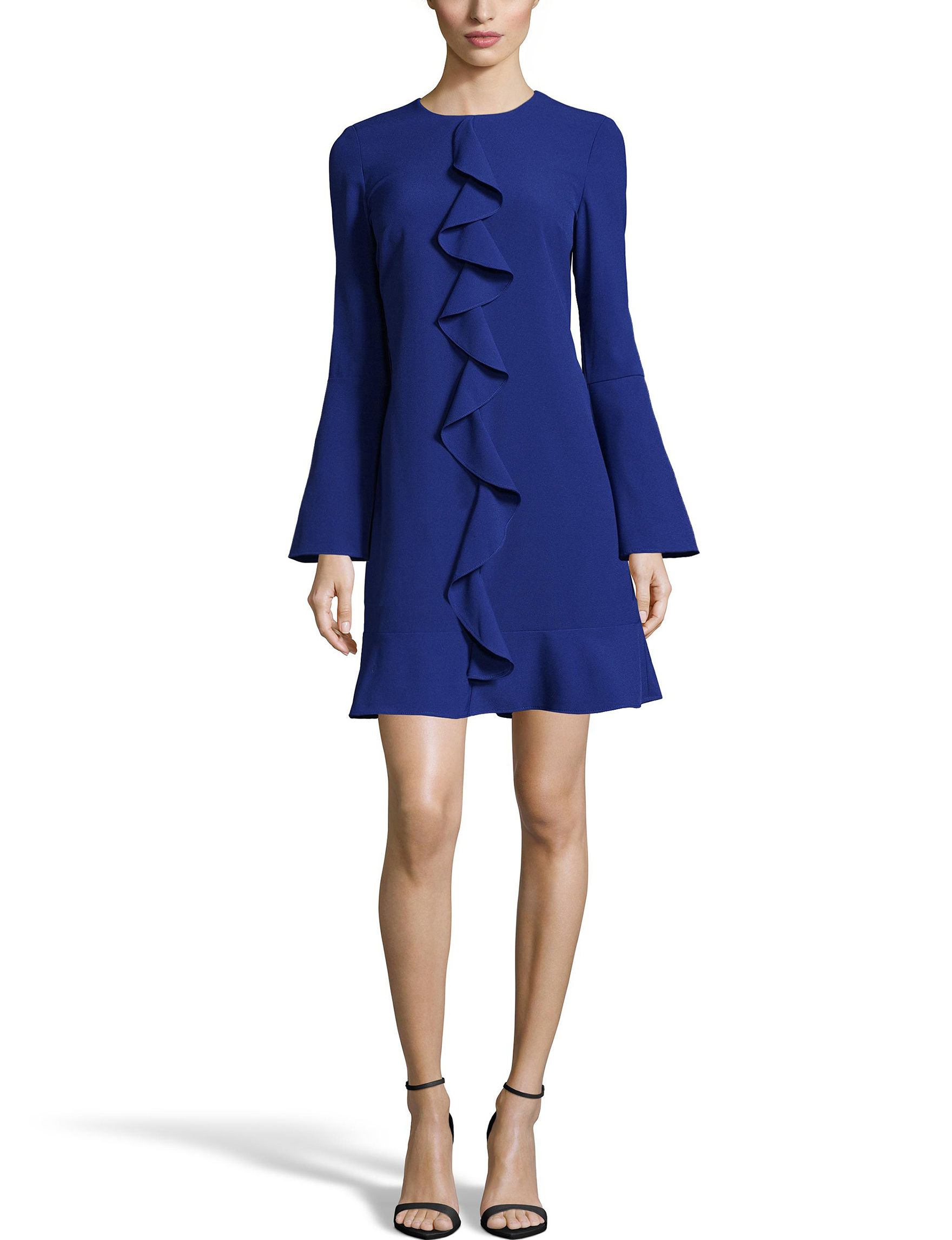 Nicole Miller Blue Everyday & Casual Sheath Dresses