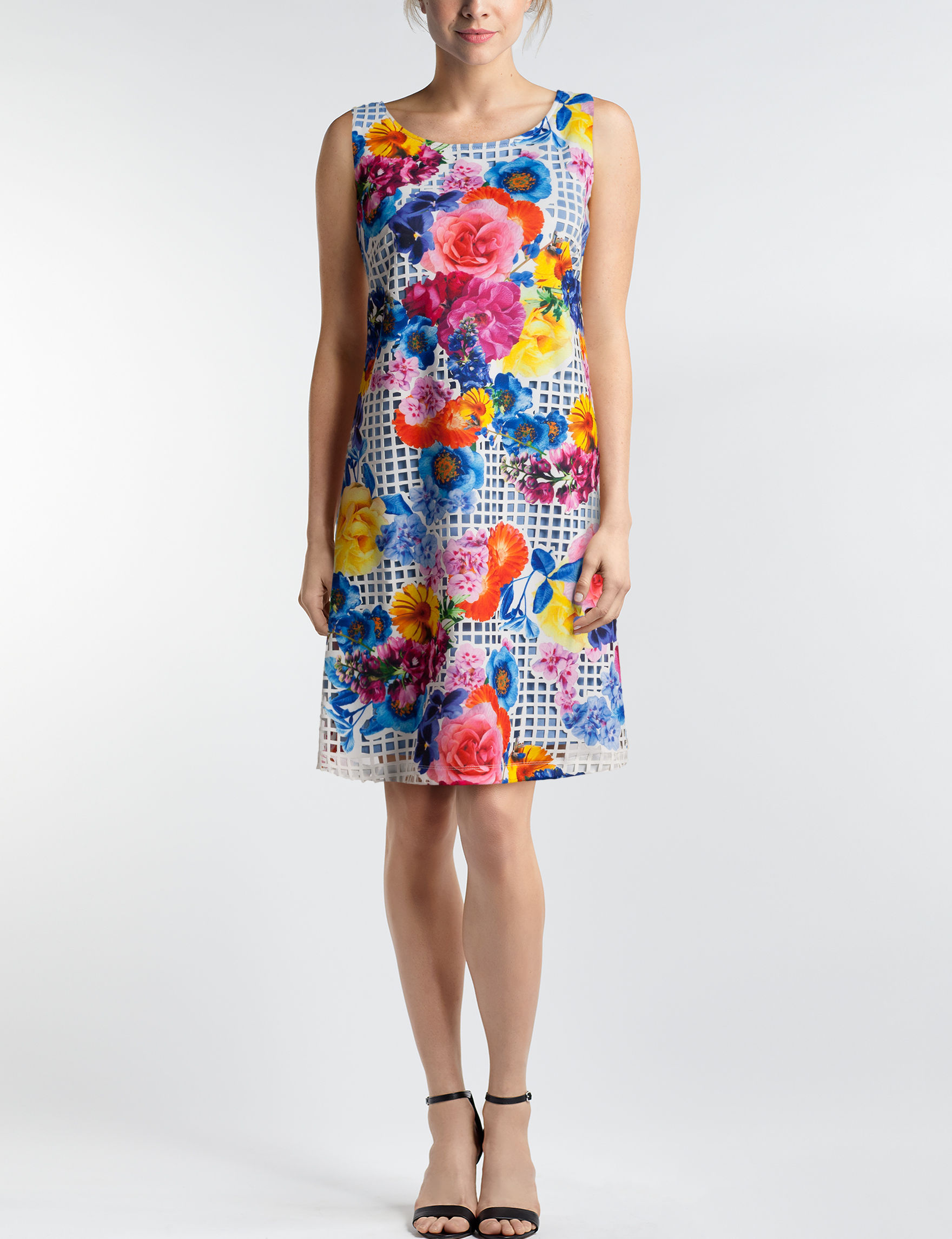 Robbie Bee Floral Everyday & Casual Shift Dresses