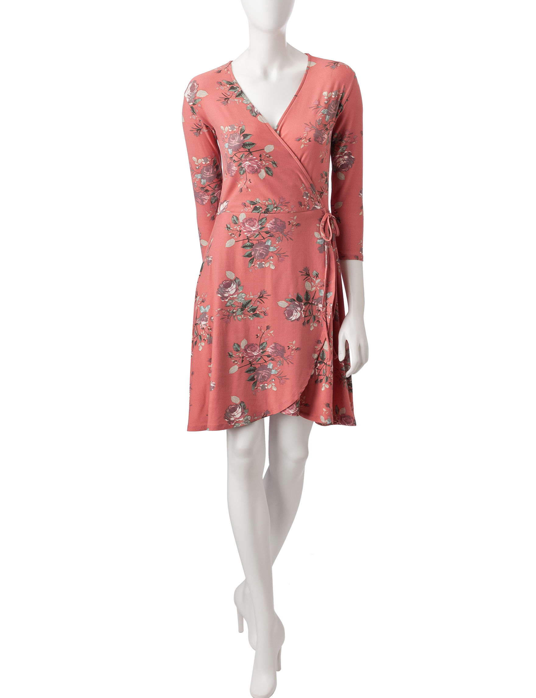 Wishful Park Desert Rose Everyday & Casual Fit & Flare Dresses