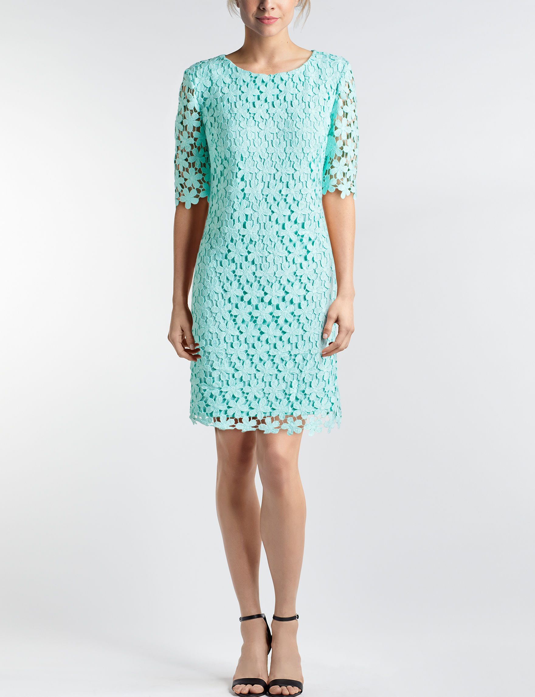 Madison Leigh Mint Sheath Dresses