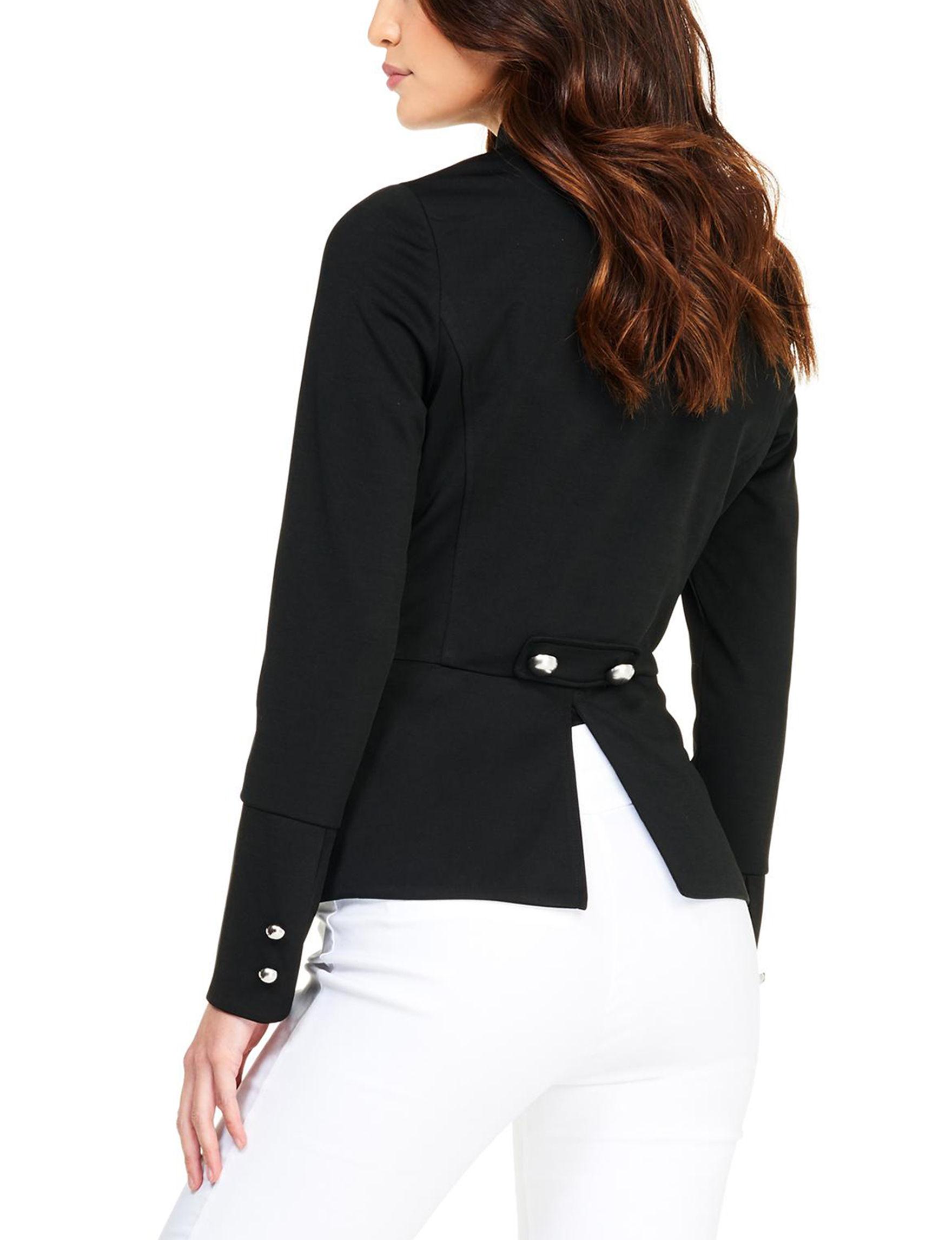 XOXO Black Lightweight Jackets & Blazers