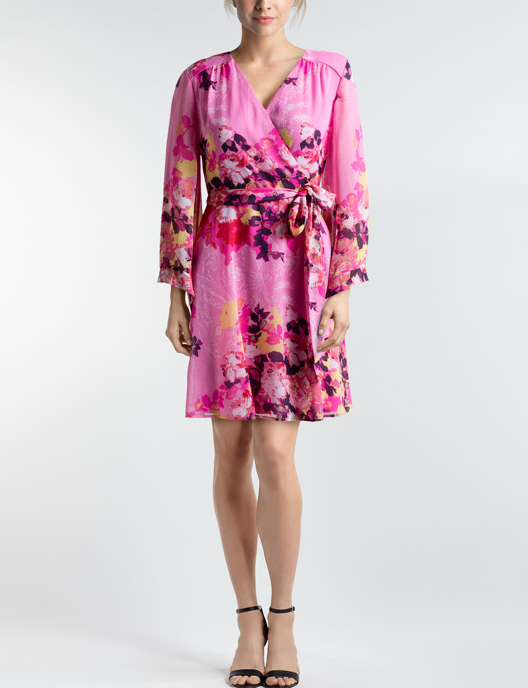 Beige by ECI Pink Everyday & Casual Shift Dresses