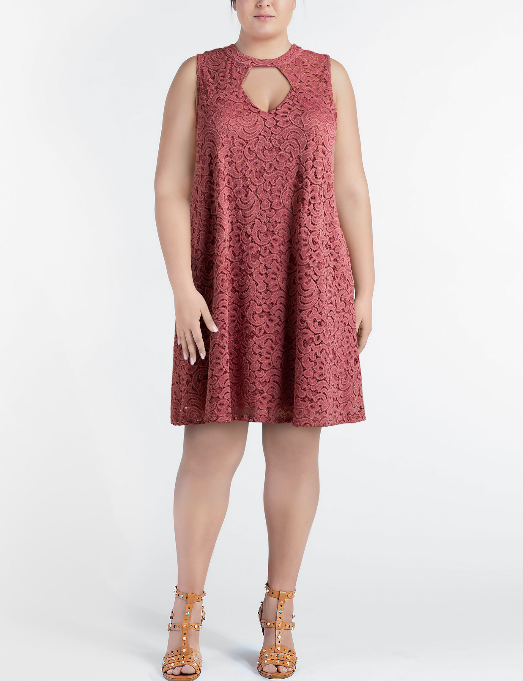 Wishful Park Pink Cocktail & Party Everyday & Casual Shift Dresses