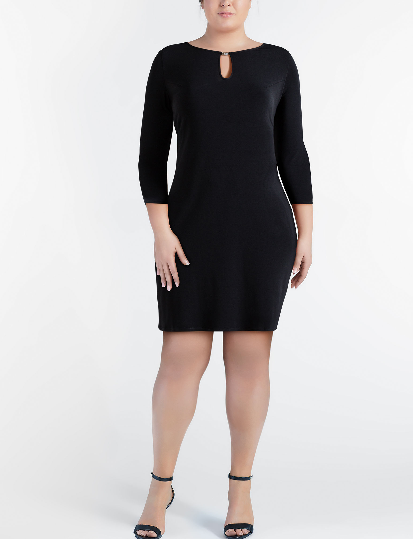 Glamour Black Everyday & Casual A-line Dresses