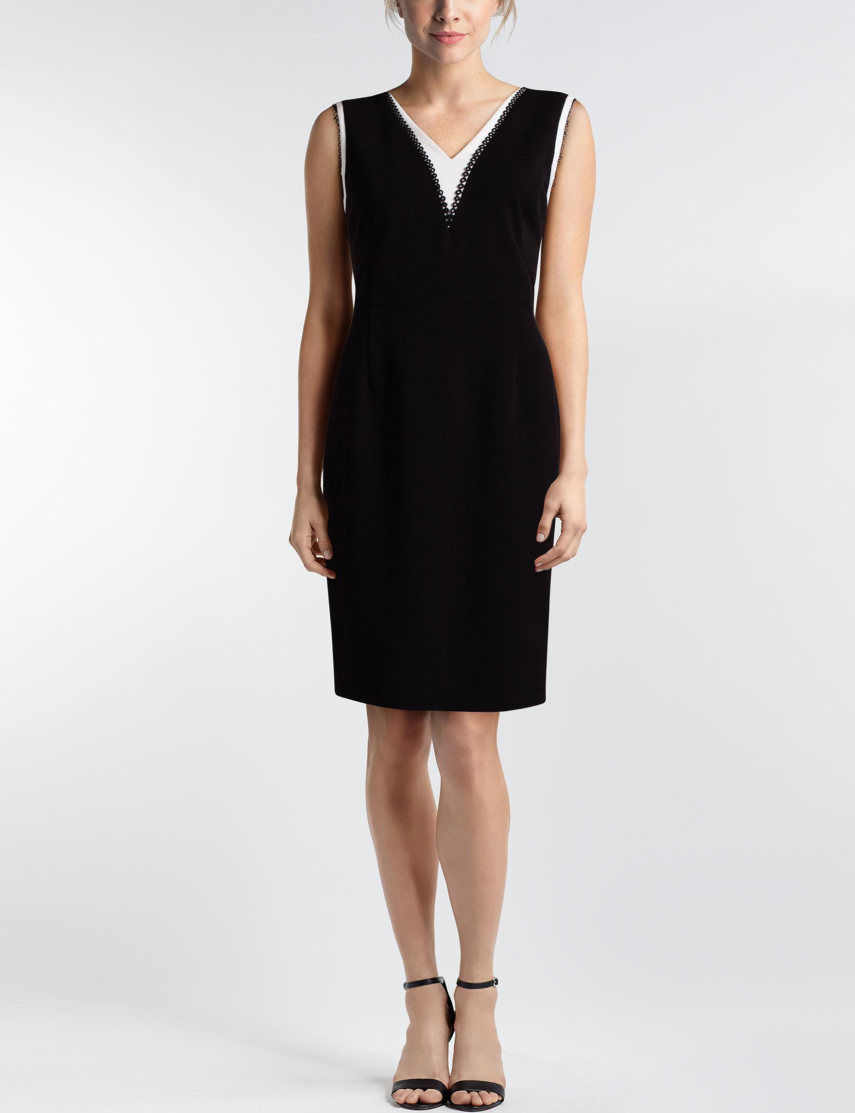 JM Studio Black Everyday & Casual Sheath Dresses