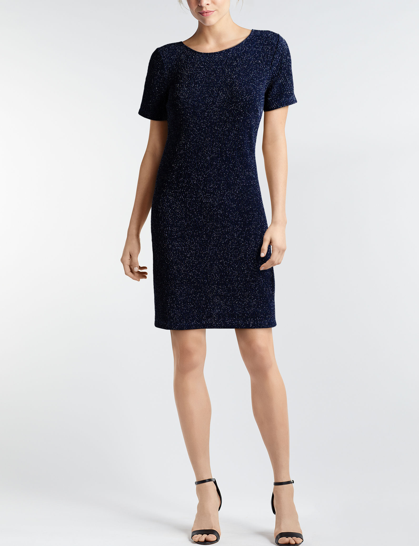Trixxi Navy Evening & Formal Everyday & Casual Shift Dresses