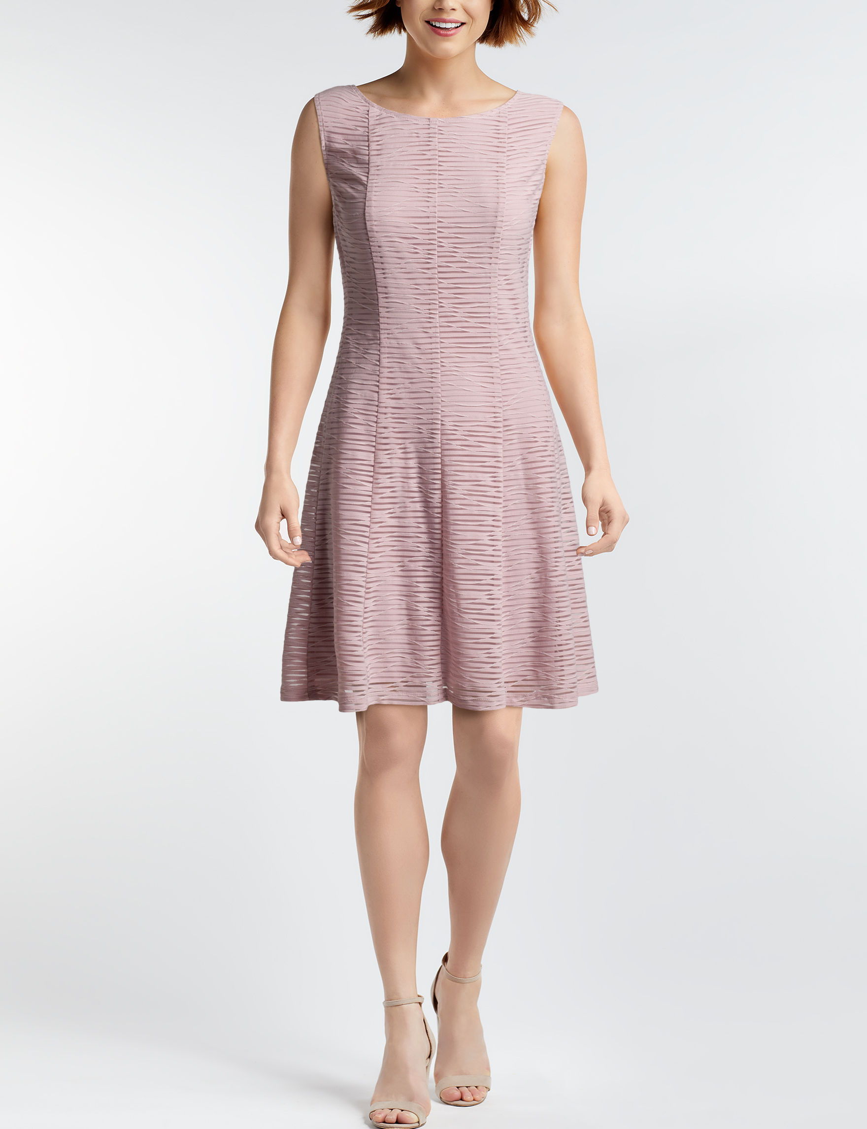 Connected Blush Everyday & Casual A-line Dresses