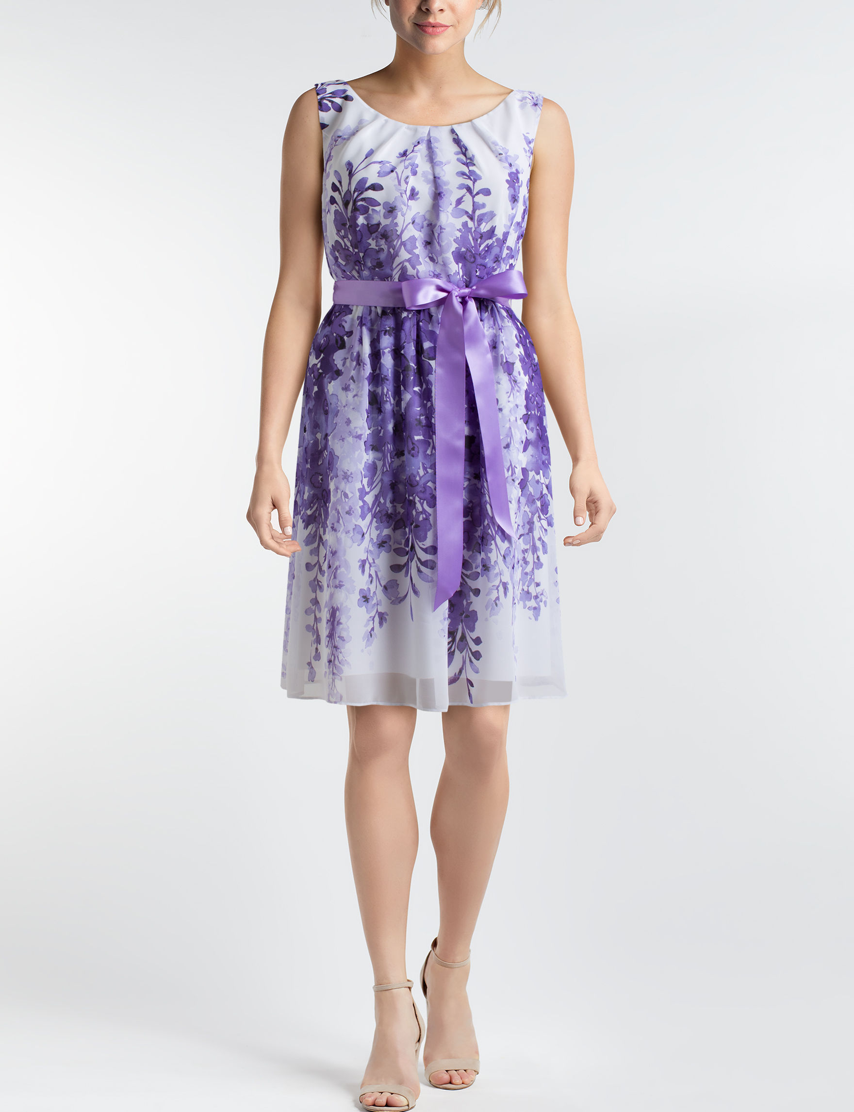 Connected Amethyst Everyday & Casual A-line Dresses