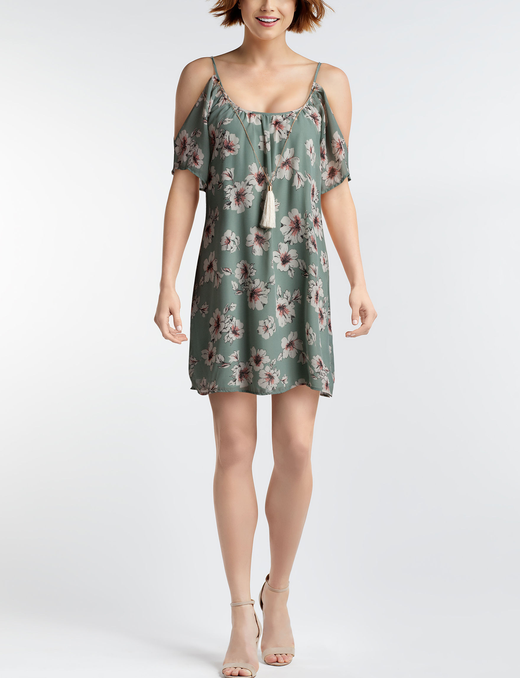 Bailey Blue Green Everyday & Casual Shift Dresses