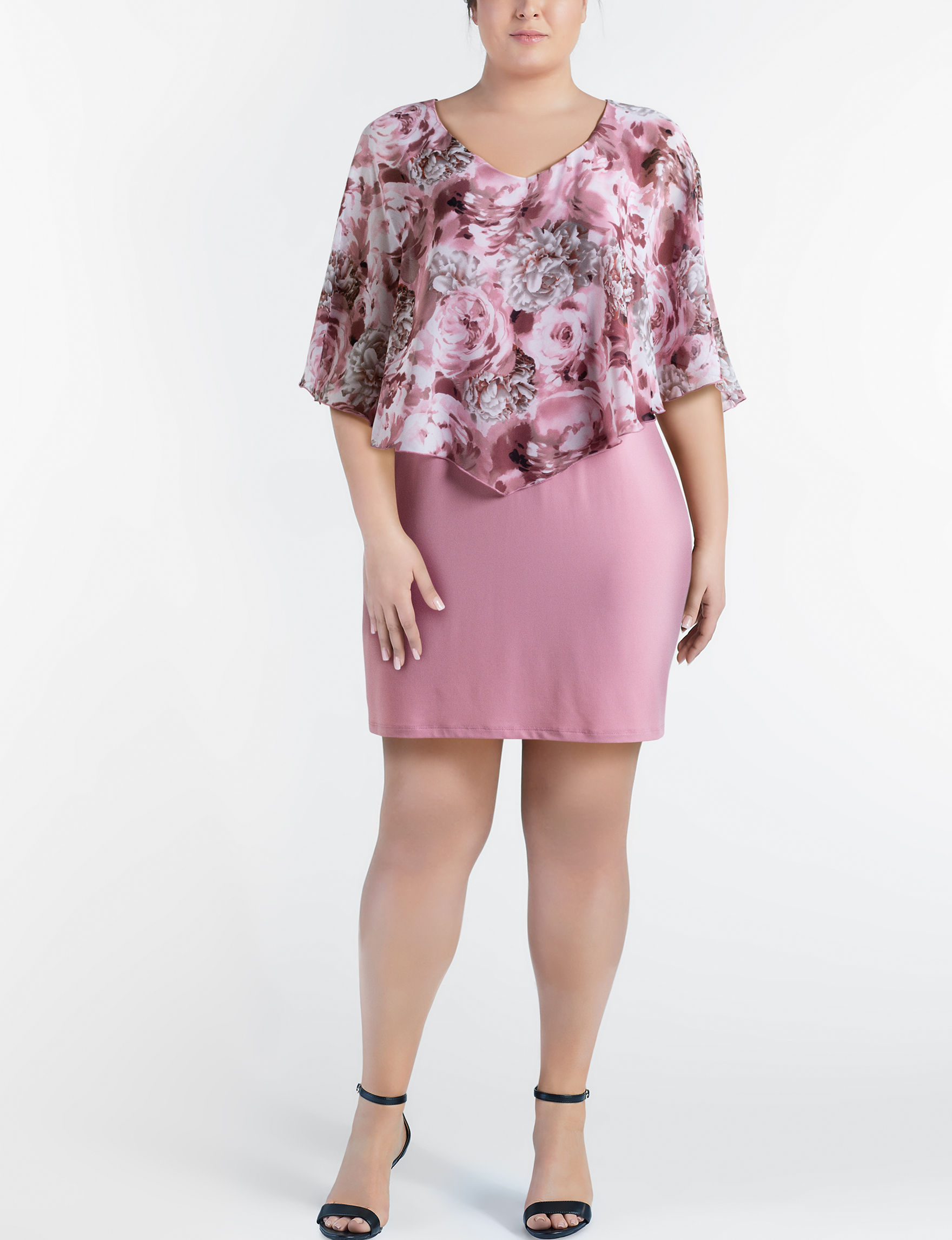 Connected Rose Everyday & Casual Jacket Dresses