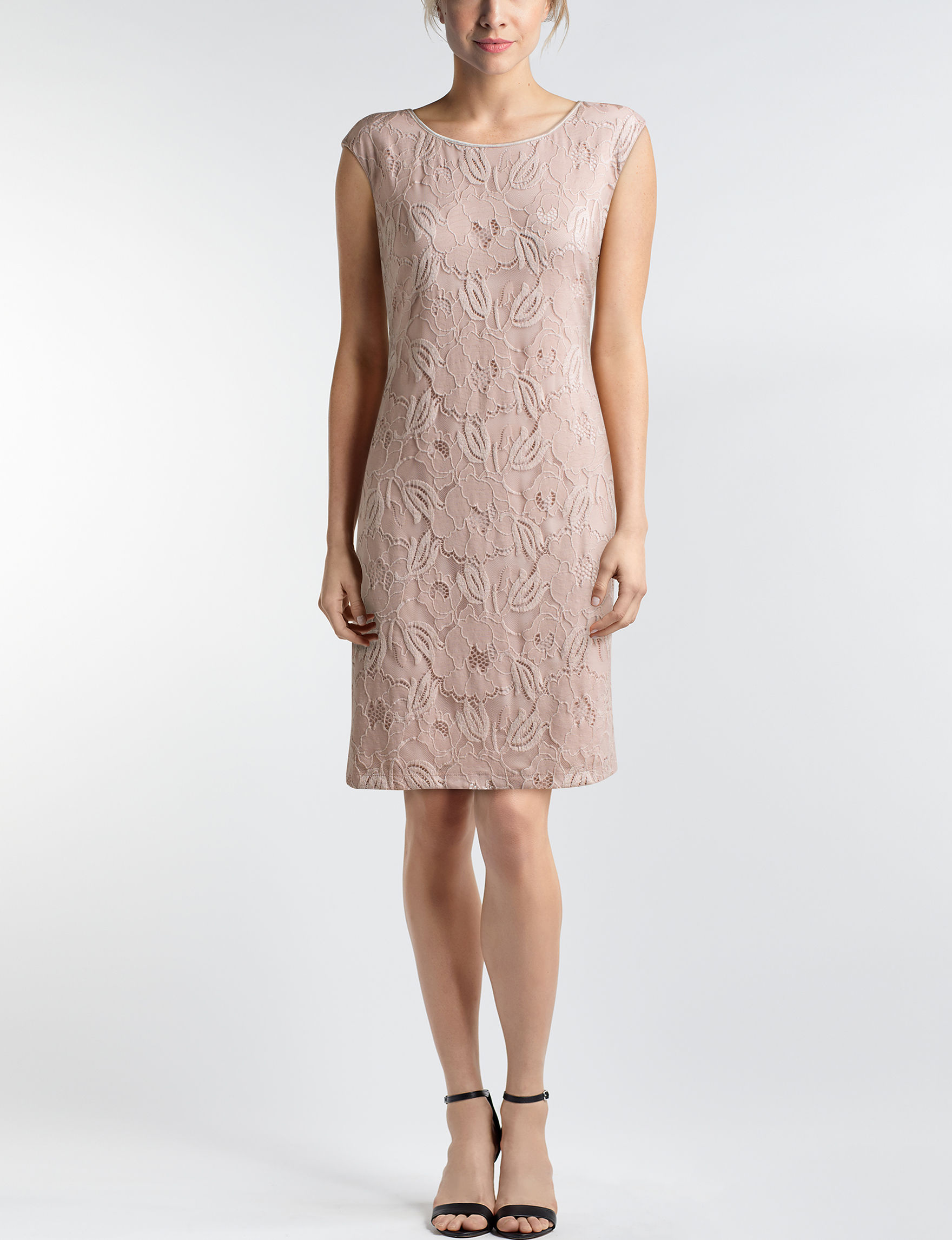Connected Blush Everyday & Casual Sheath Dresses