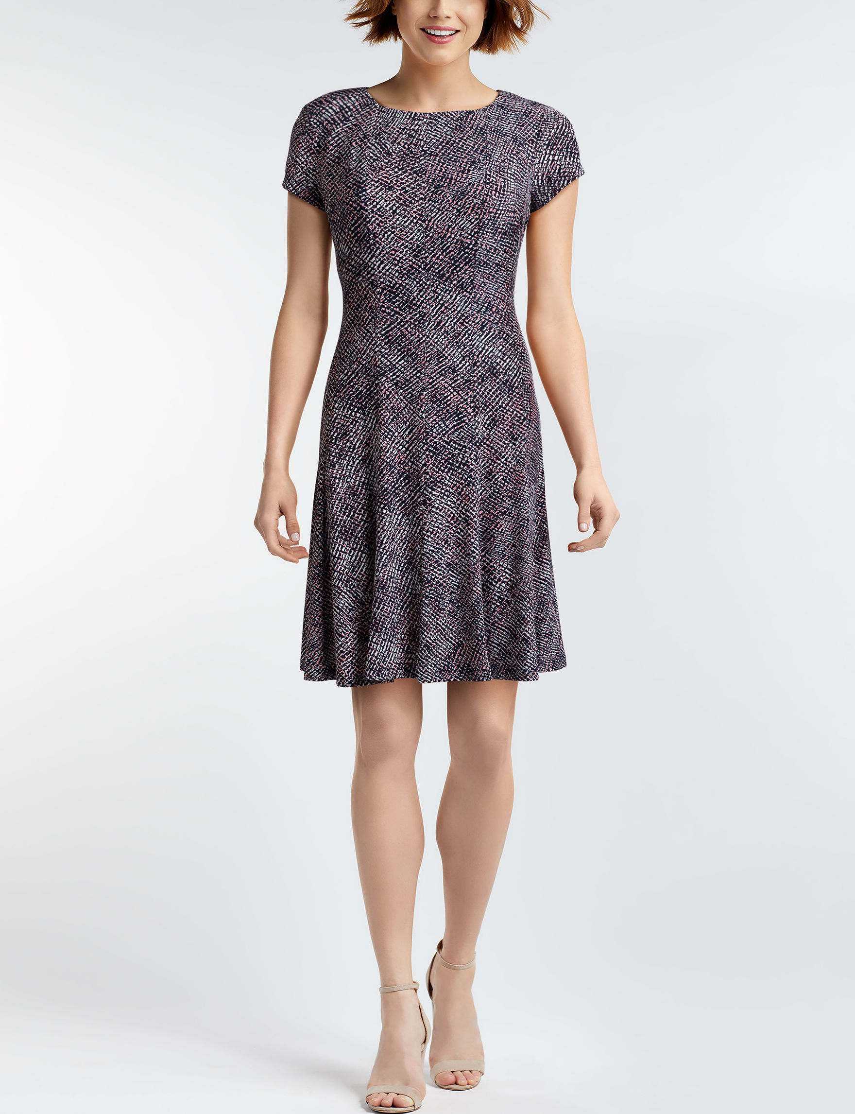 Connected Charcoal Everyday & Casual A-line Dresses