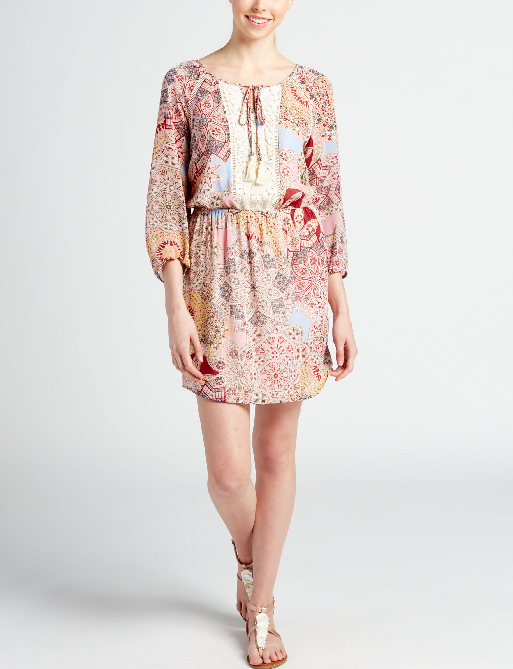Signature Studio Blush Everyday & Casual Tunics Shirt Dresses