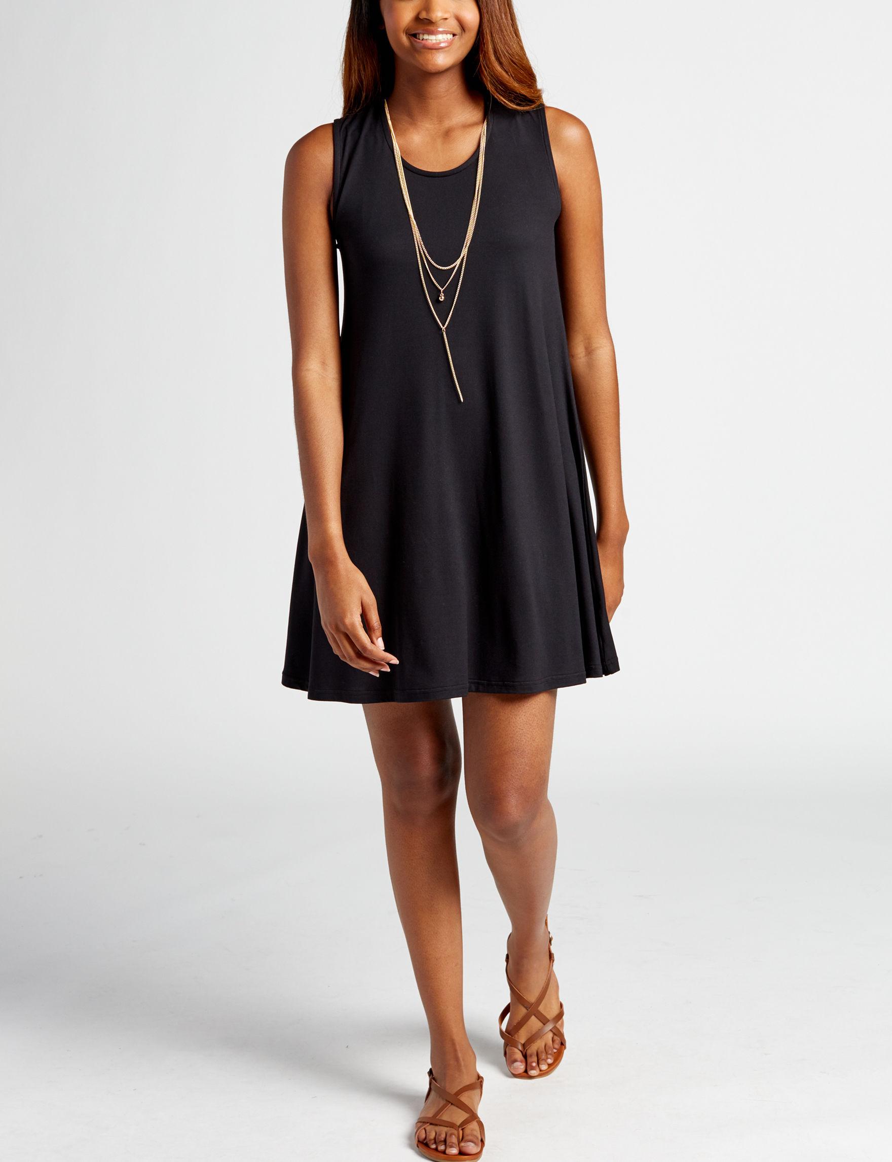 Wishful Park Black Everyday & Casual Shift Dresses