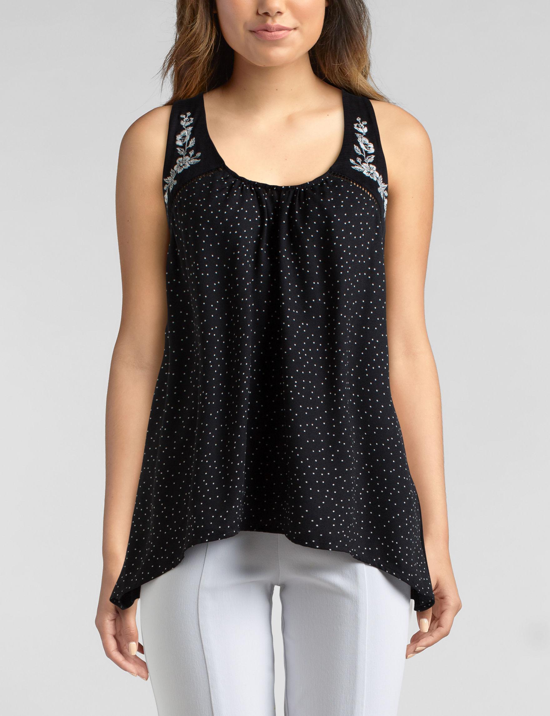Heart Soul Black Shirts & Blouses