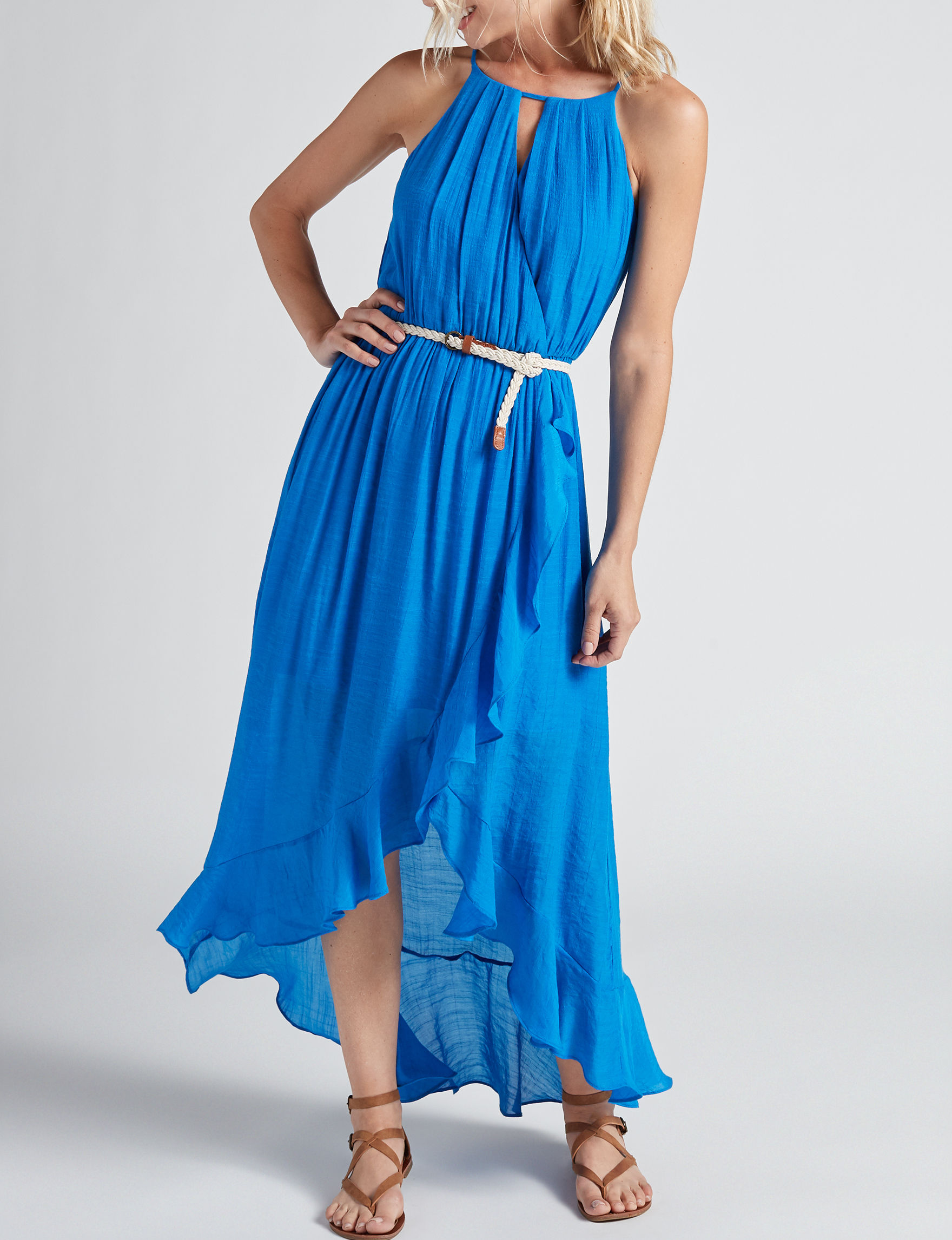 A. Byer Royal Blue Everyday & Casual Sundresses