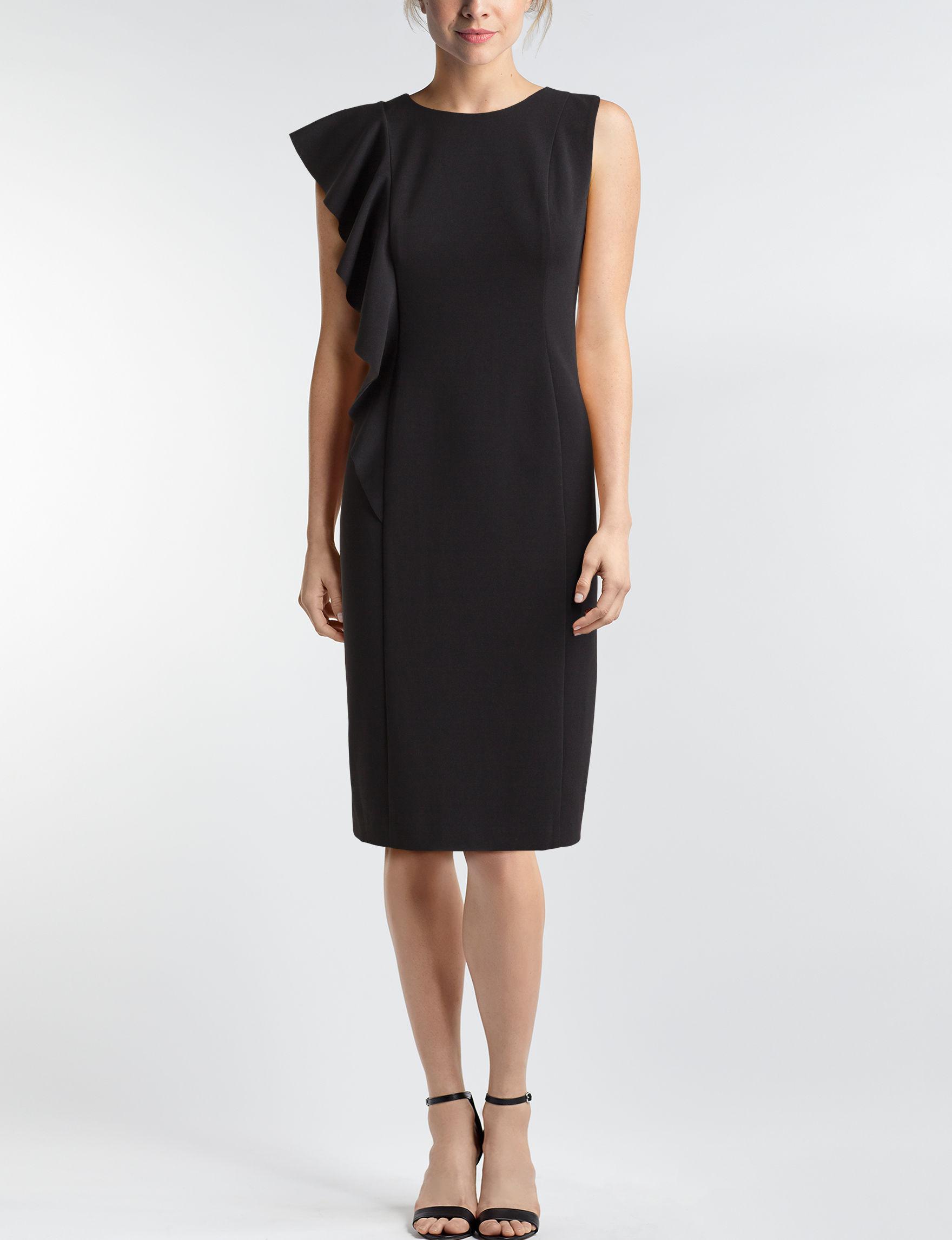 London Times Black Everyday & Casual Sheath Dresses