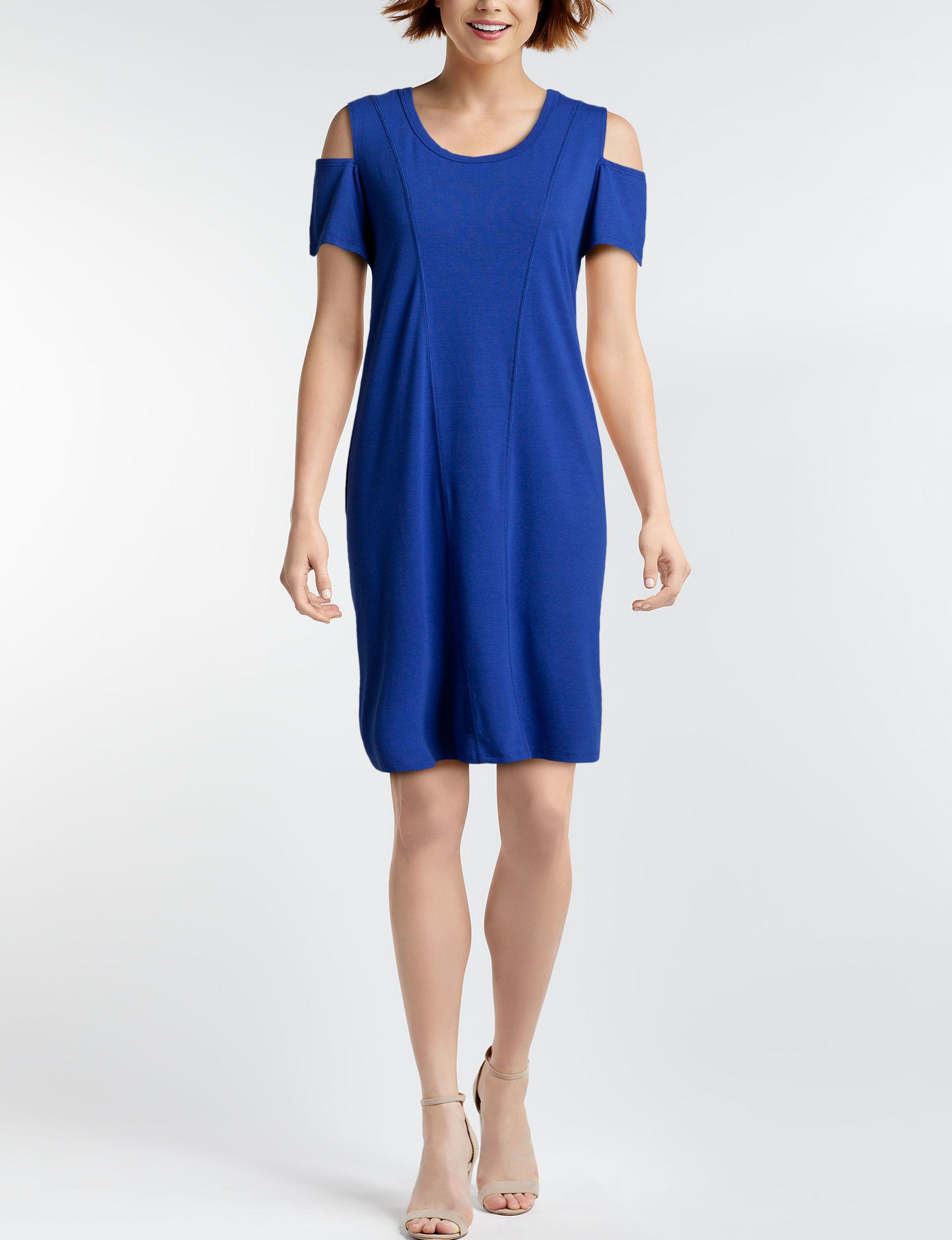 Nina Leonard Royal Blue Everyday & Casual