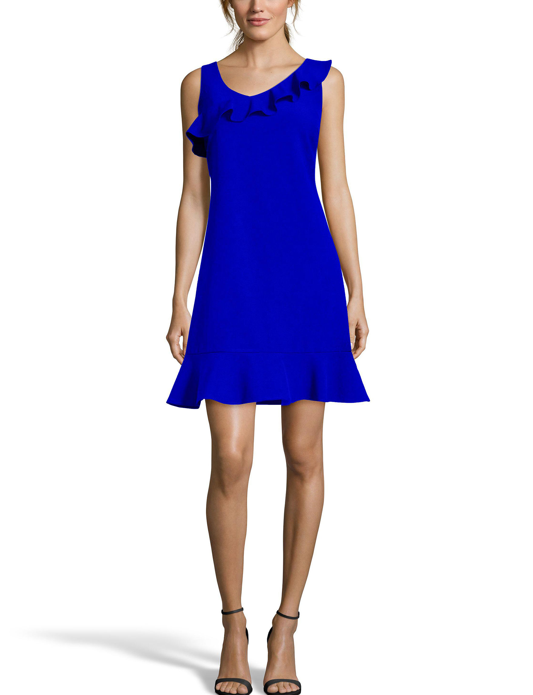 Nicole Miller Blue Everyday & Casual Shift Dresses