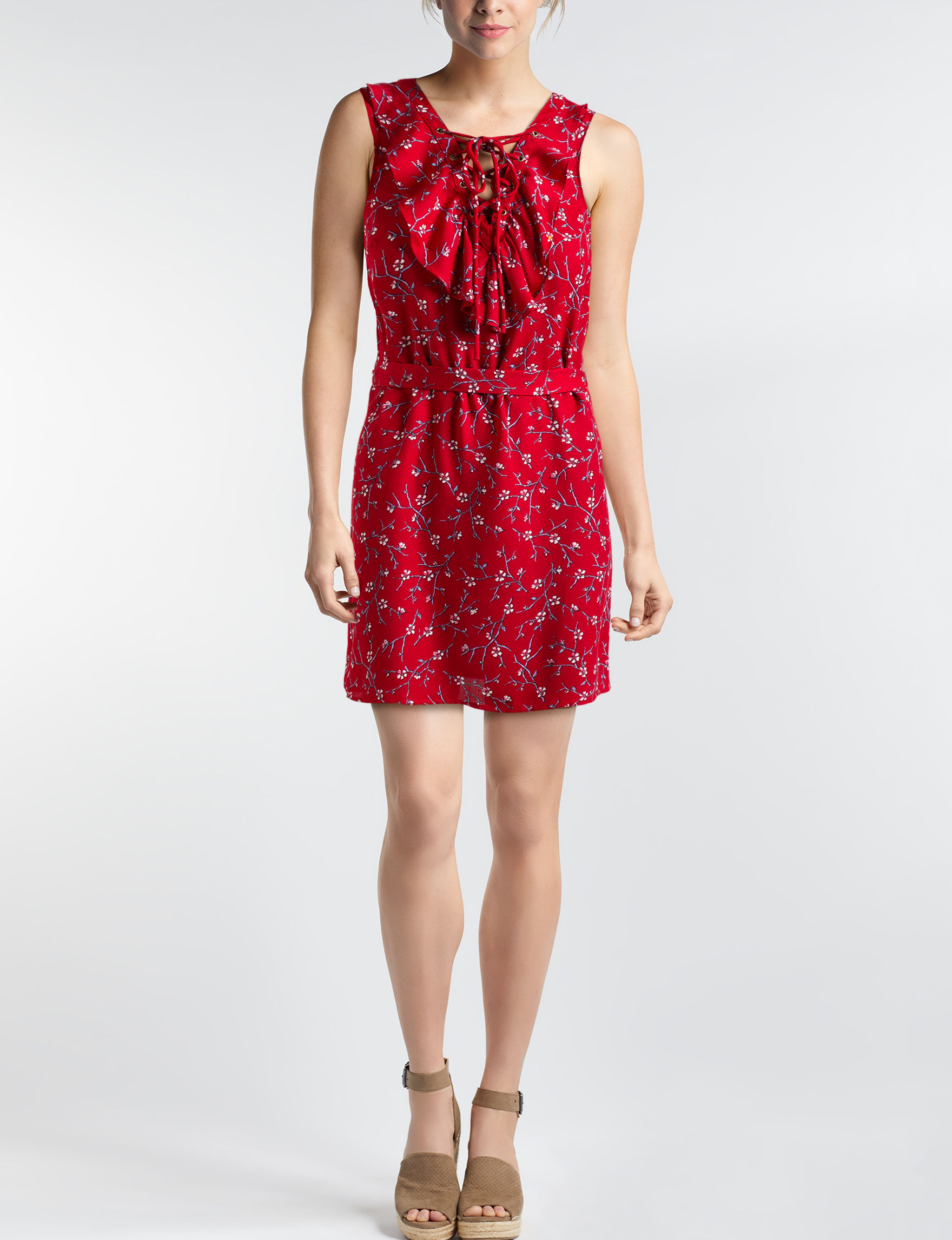 Heart Soul Red Everyday & Casual Sundresses