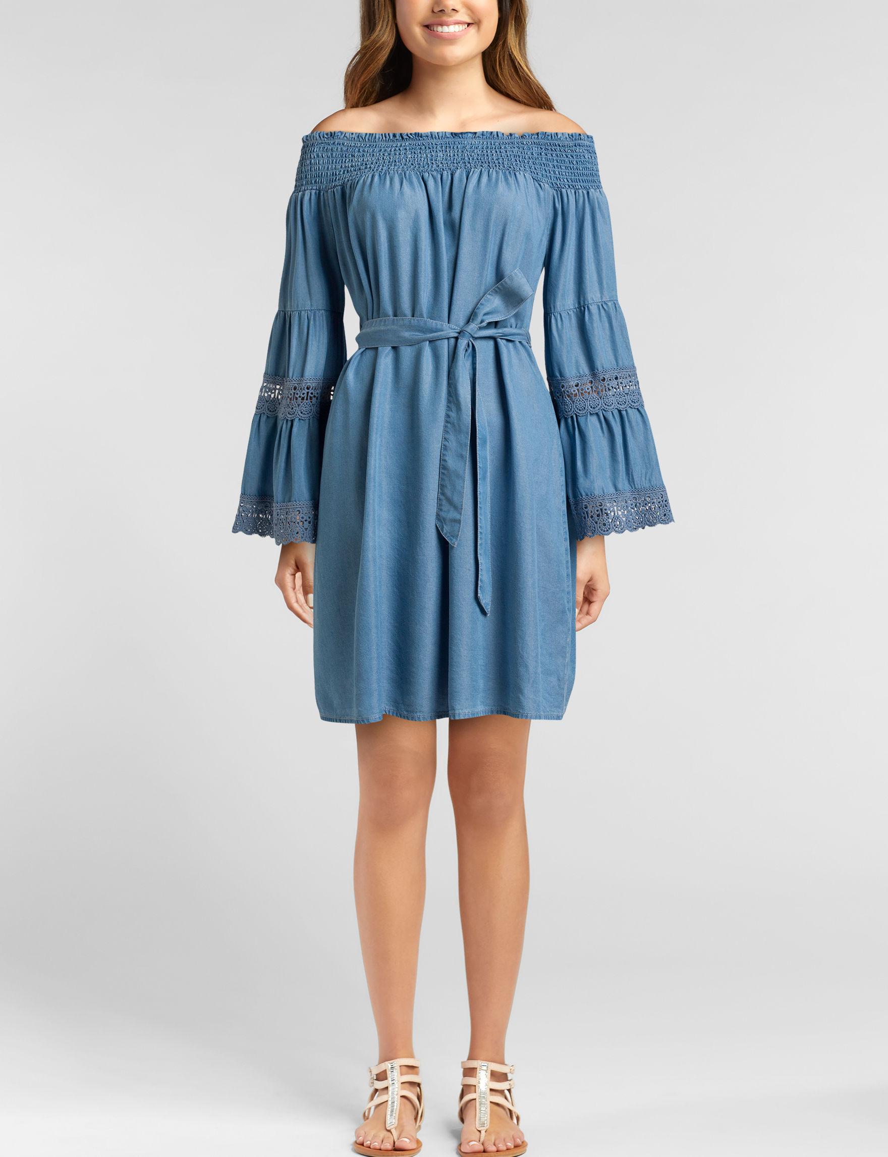 Signature Studio Blue Everyday & Casual Shift Dresses