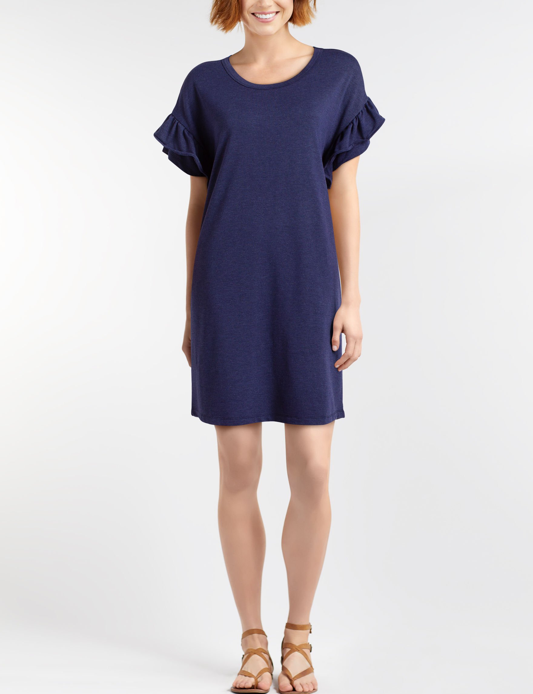 One World Blue Everyday & Casual Shift Dresses