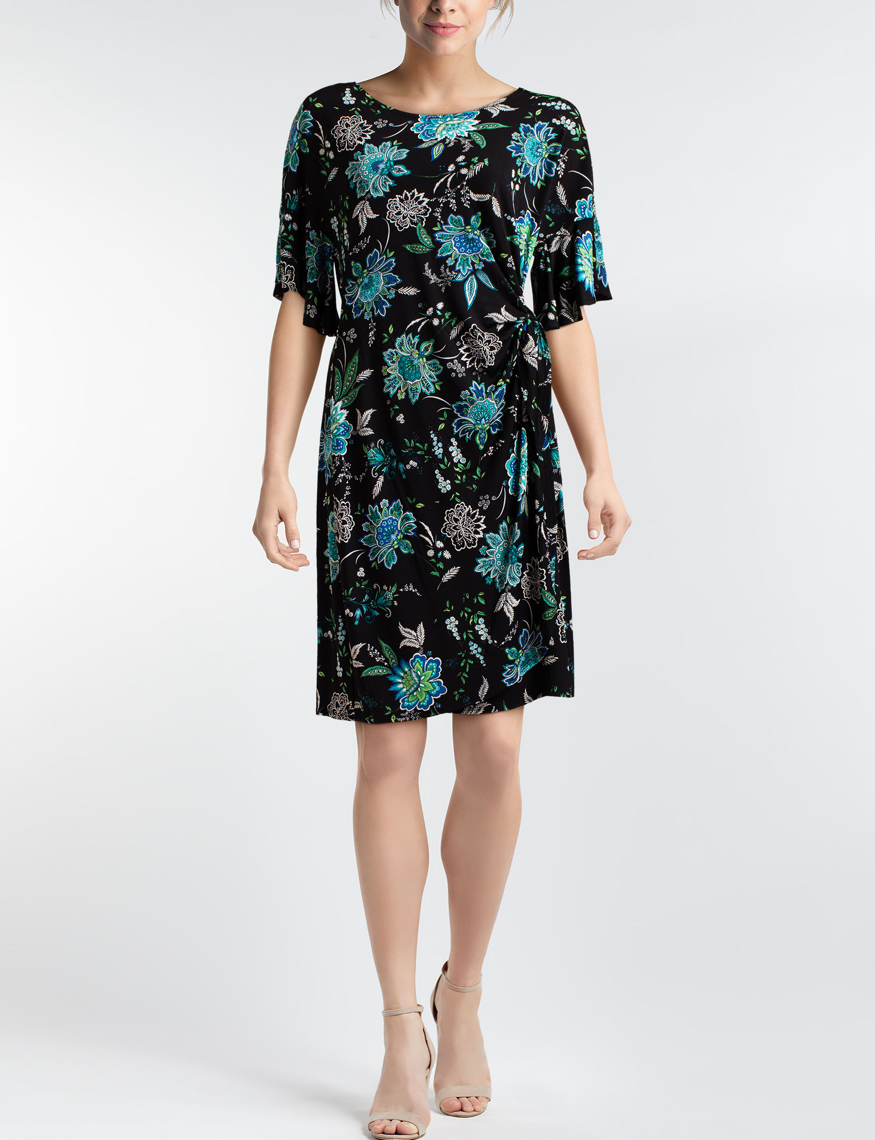 Robbie Bee Black Everyday & Casual A-line Dresses