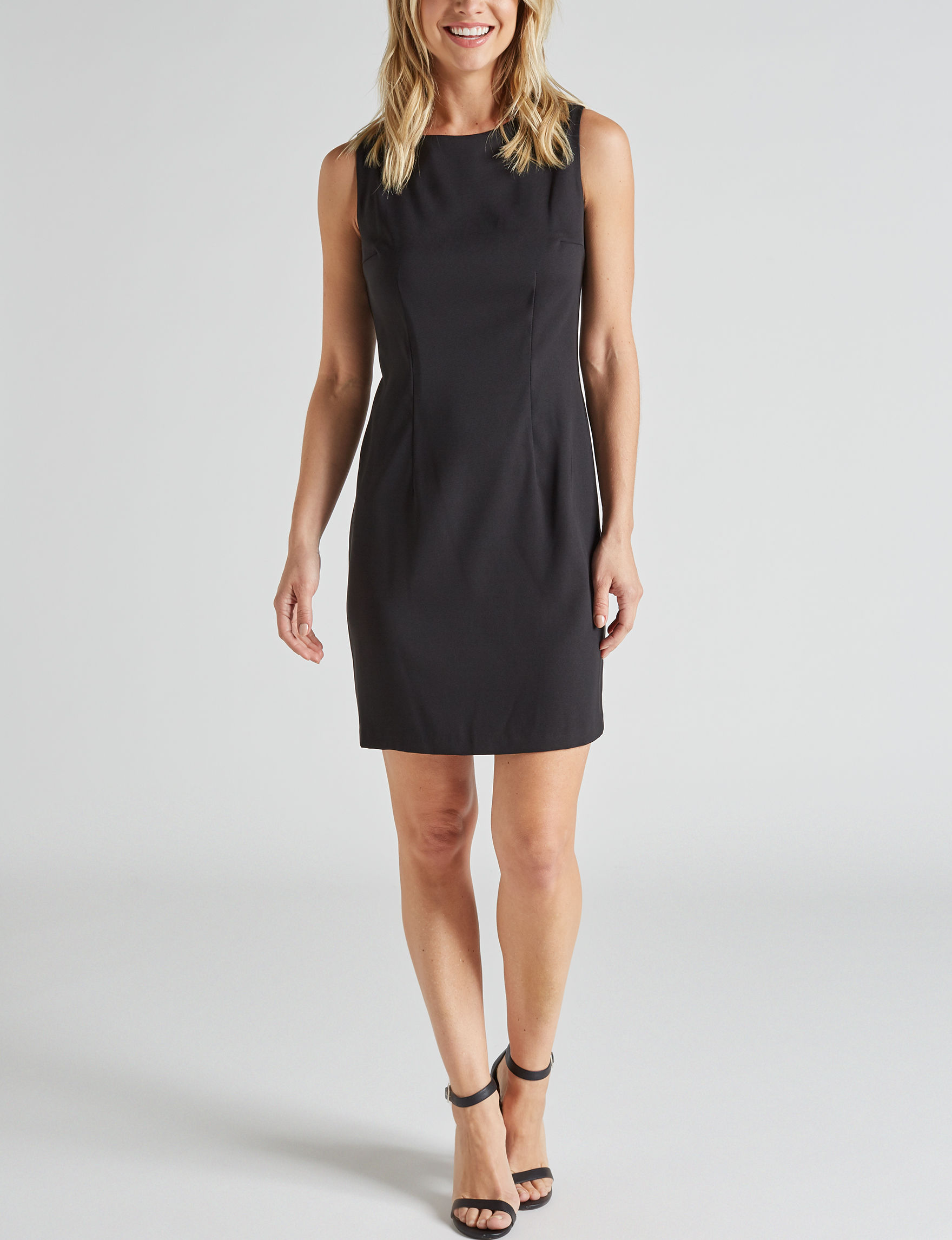 A. Byer Black Everyday & Casual Sheath Dresses