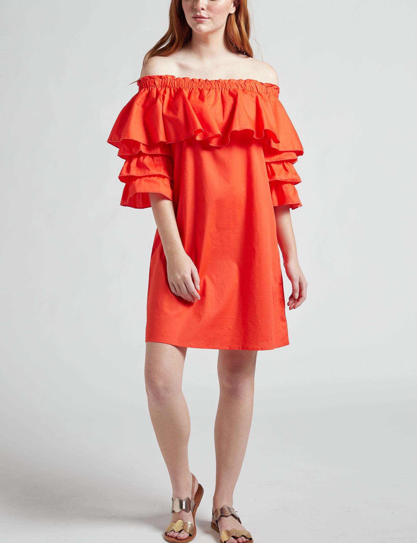 Signature Studio Coral Shift Dresses