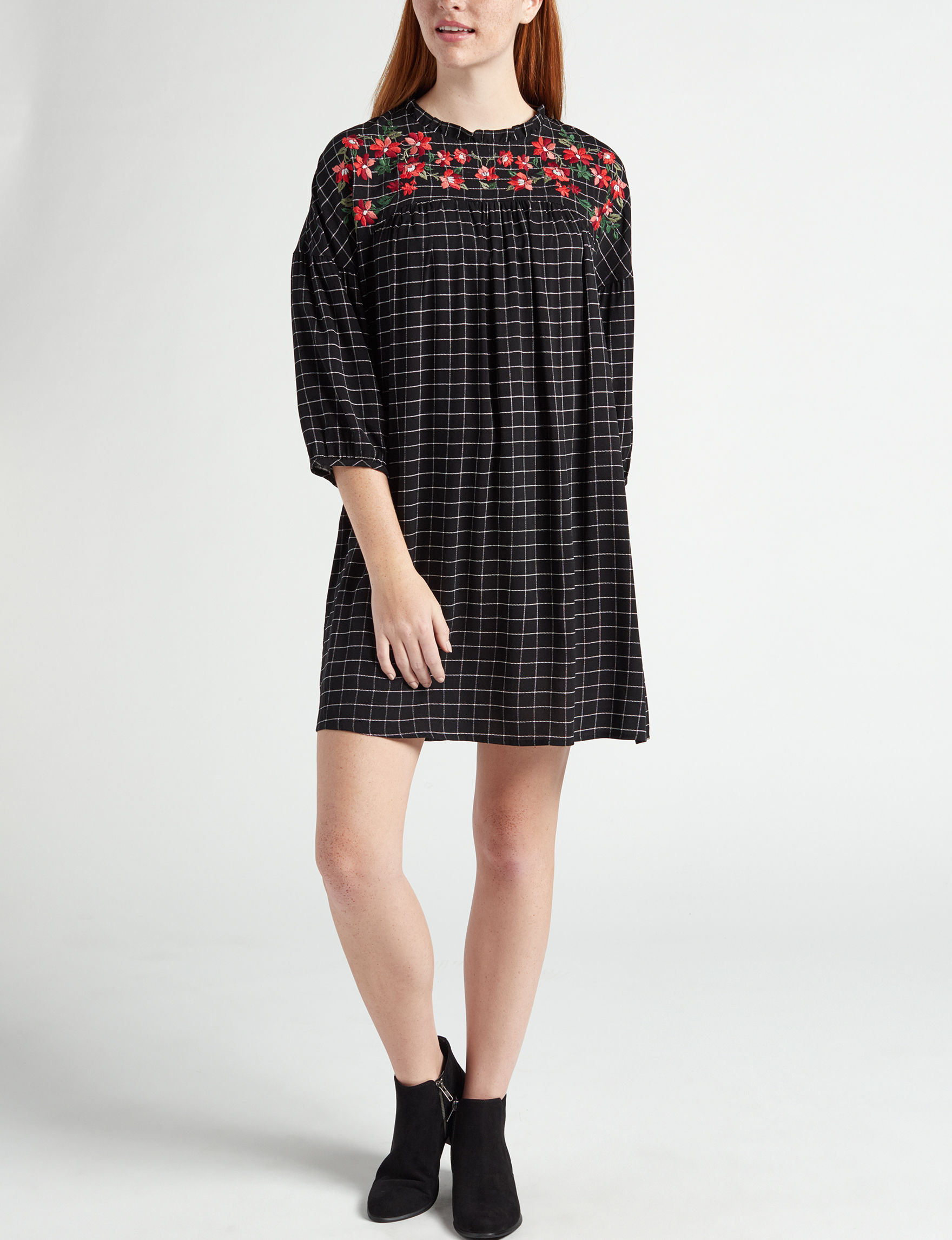 BeBop Black Everyday & Casual Shift Dresses