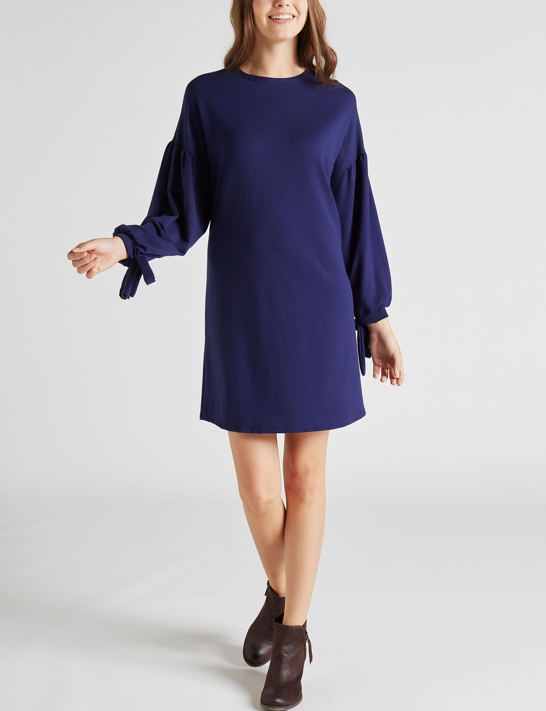 Wishful Park Navy Everyday & Casual Shift Dresses