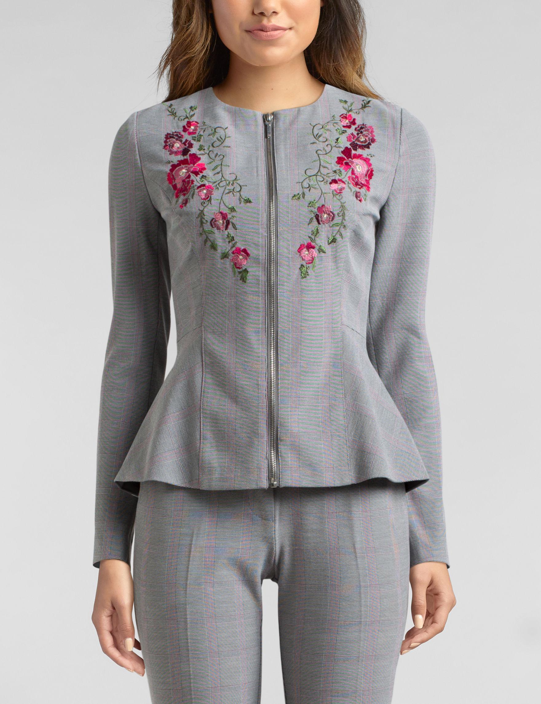 XOXO Grey Lightweight Jackets & Blazers