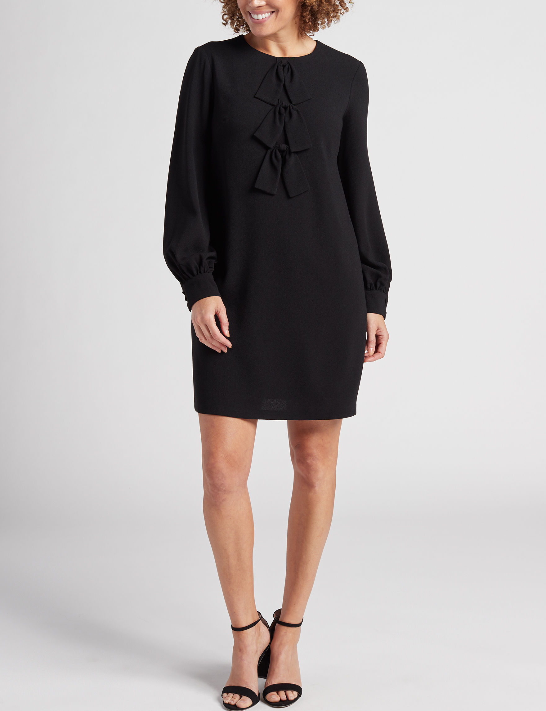 London Times Black Everyday & Casual Shift Dresses