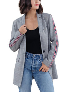 C + J Collections Grey Lightweight Jackets & Blazers