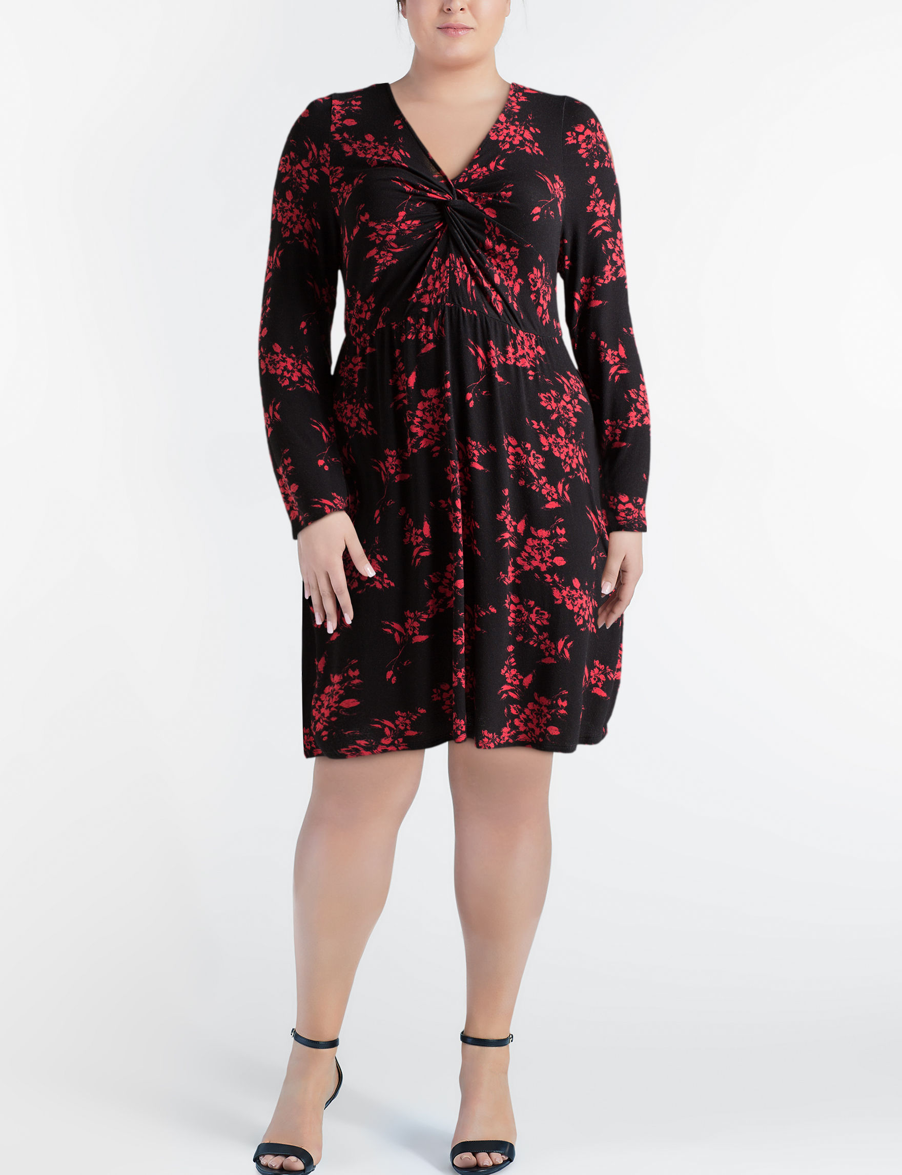 Liberty Love Black Everyday & Casual Shift Dresses