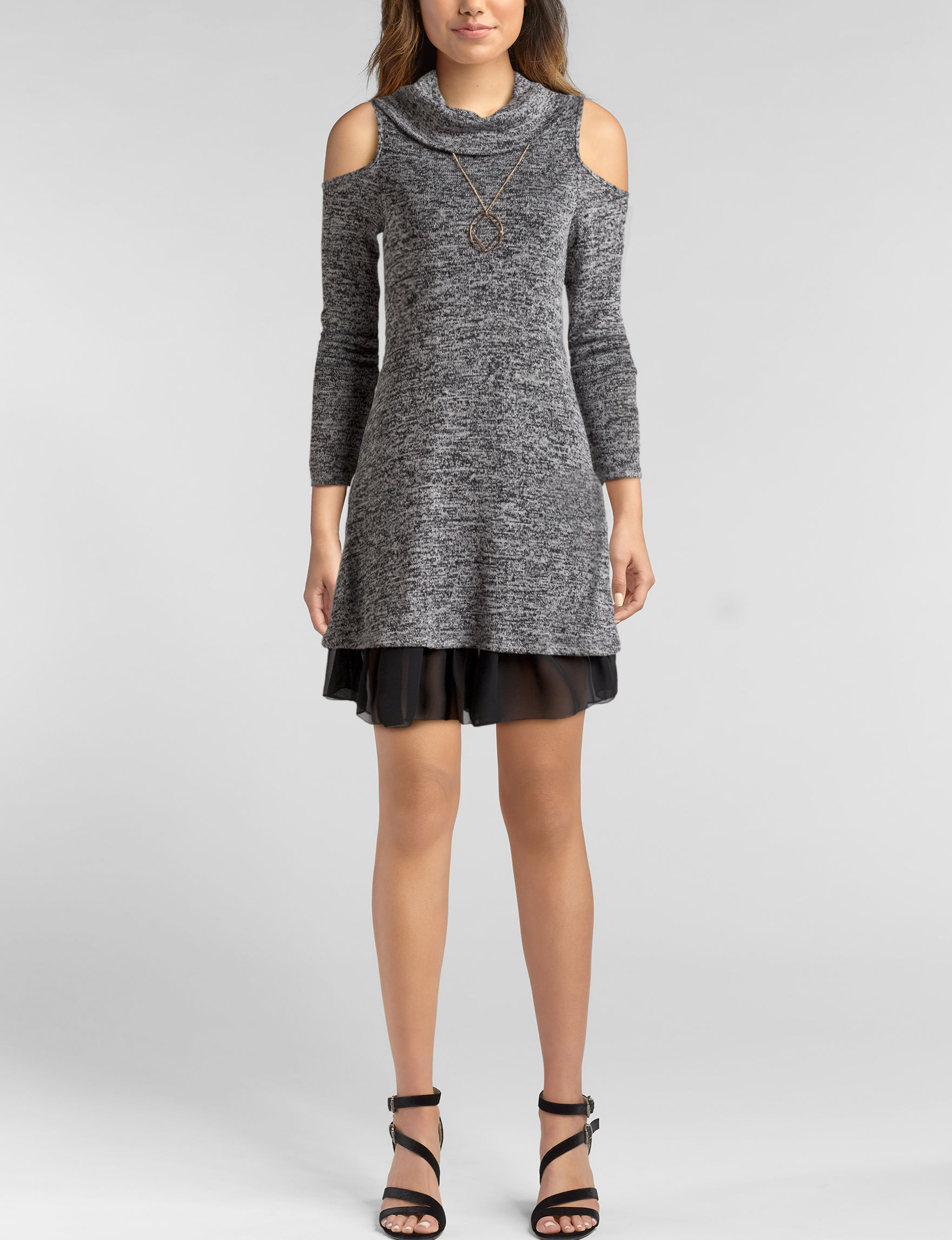 Bailey Blue Black Everyday & Casual Shift Dresses Sweater Dresses