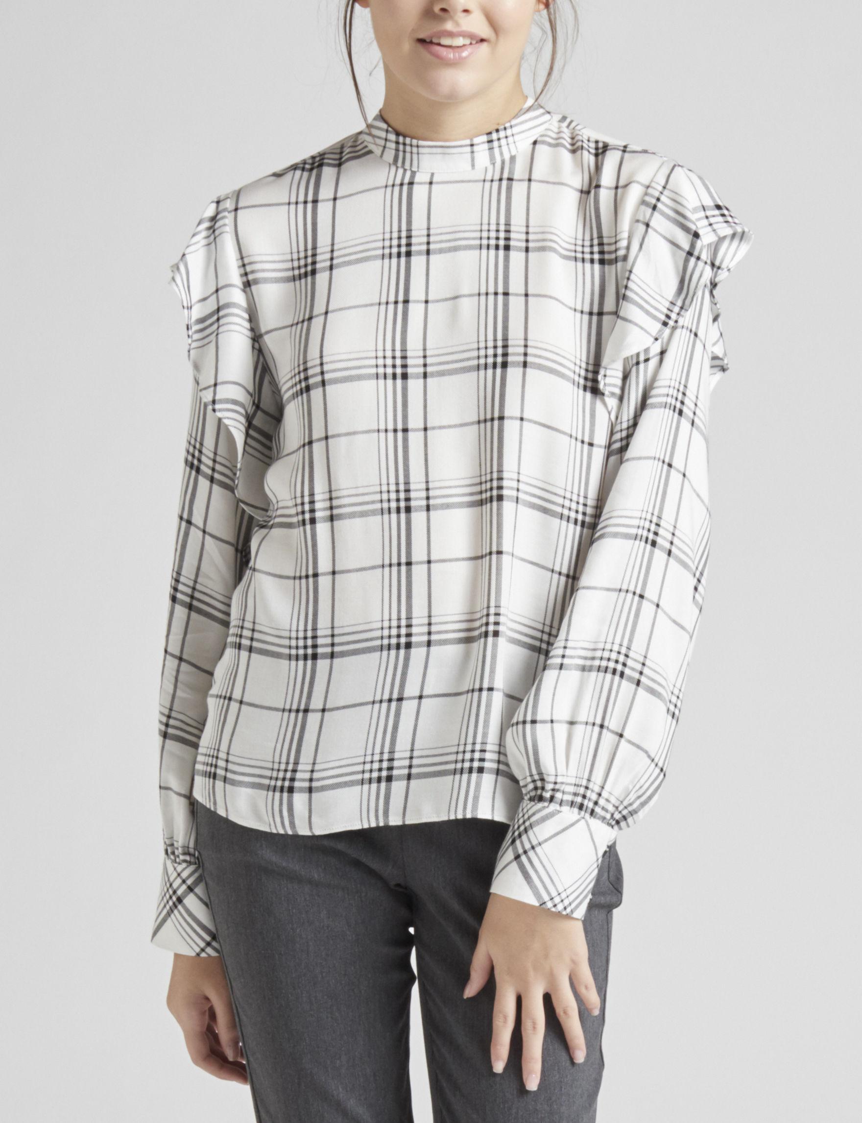 My Michelle White / Black Shirts & Blouses