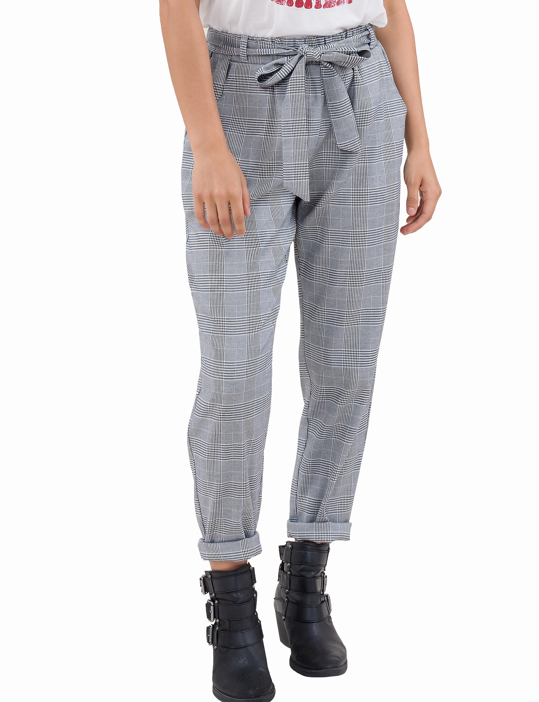 C + J Collections Grey Skinny