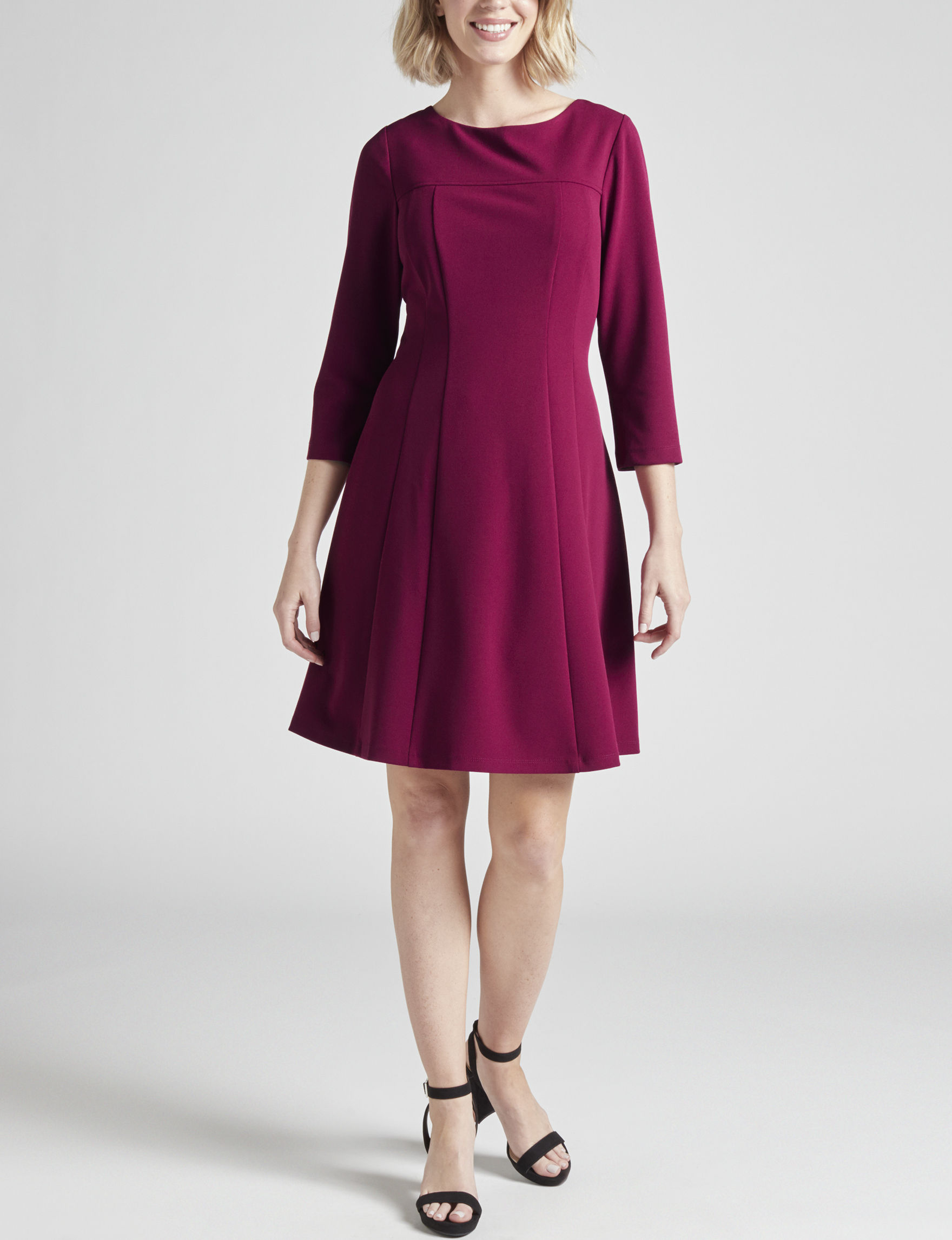 Connected Berry Everyday & Casual A-line Dresses