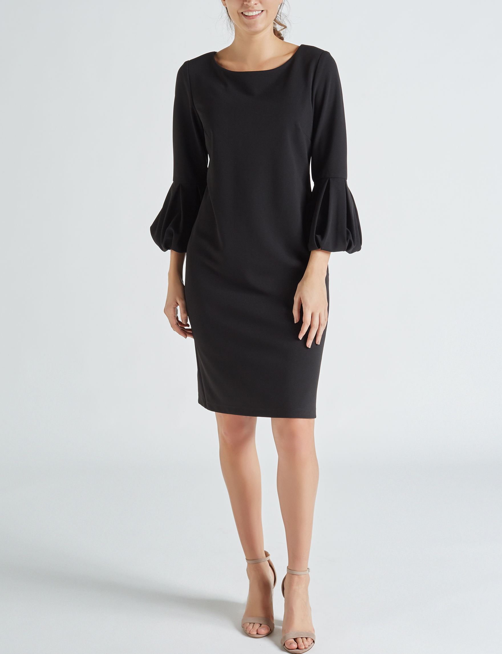 Ronni Nicole Black Everyday & Casual Sheath Dresses