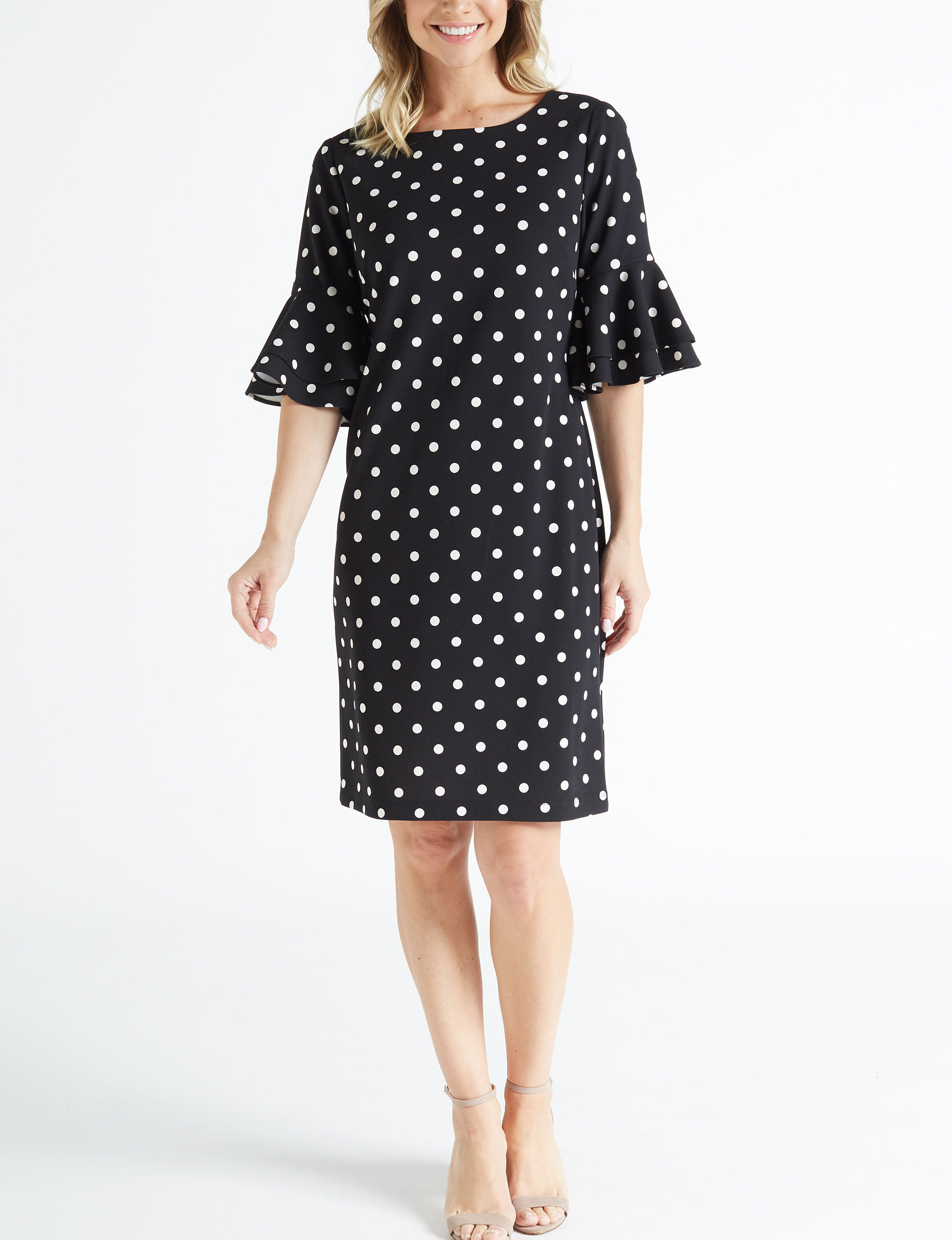 Ronni Nicole Black Everyday & Casual Shift Dresses