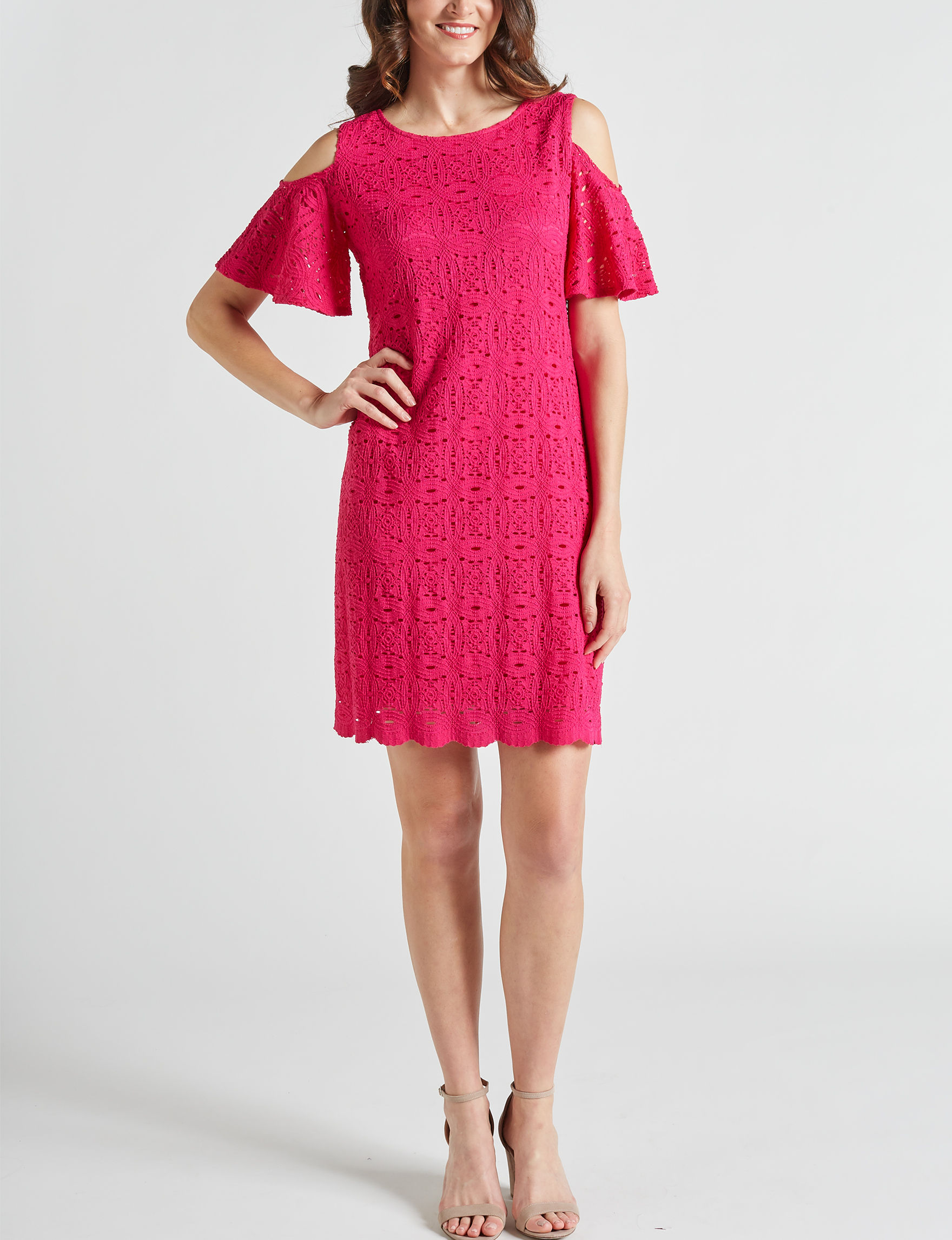 Ronni Nicole Medium Pink Everyday & Casual Shift Dresses