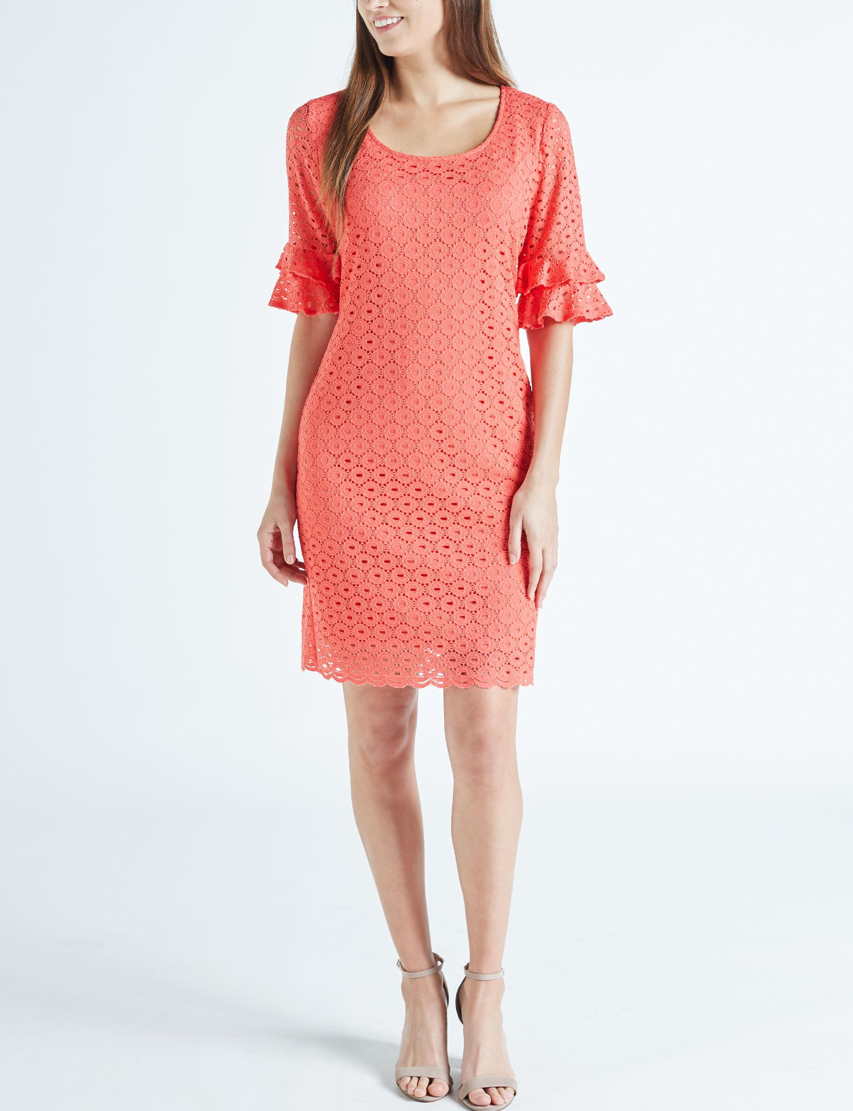 Ronni Nicole Coral Everyday & Casual Sheath Dresses