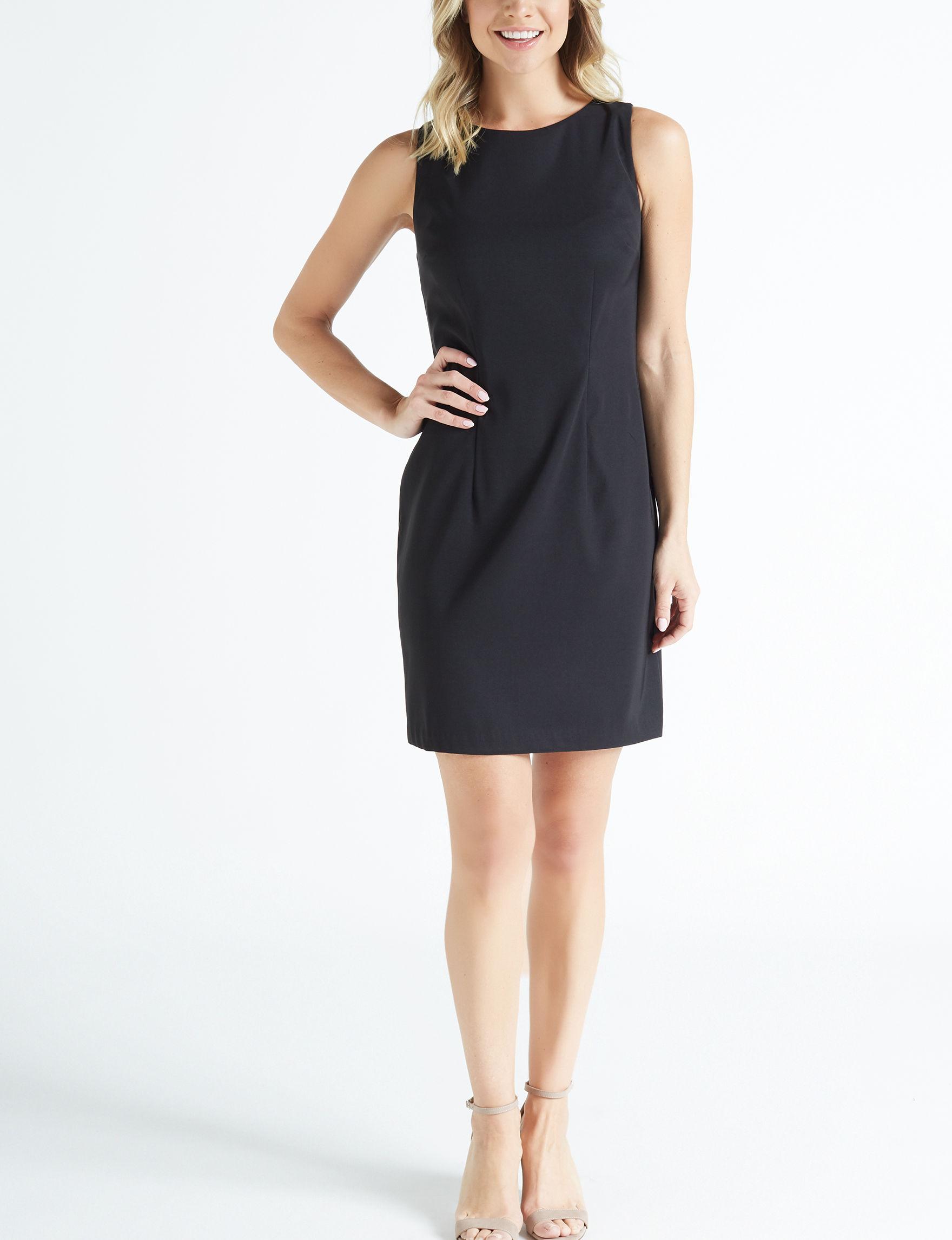 AGB Black Everyday & Casual Sheath Dresses